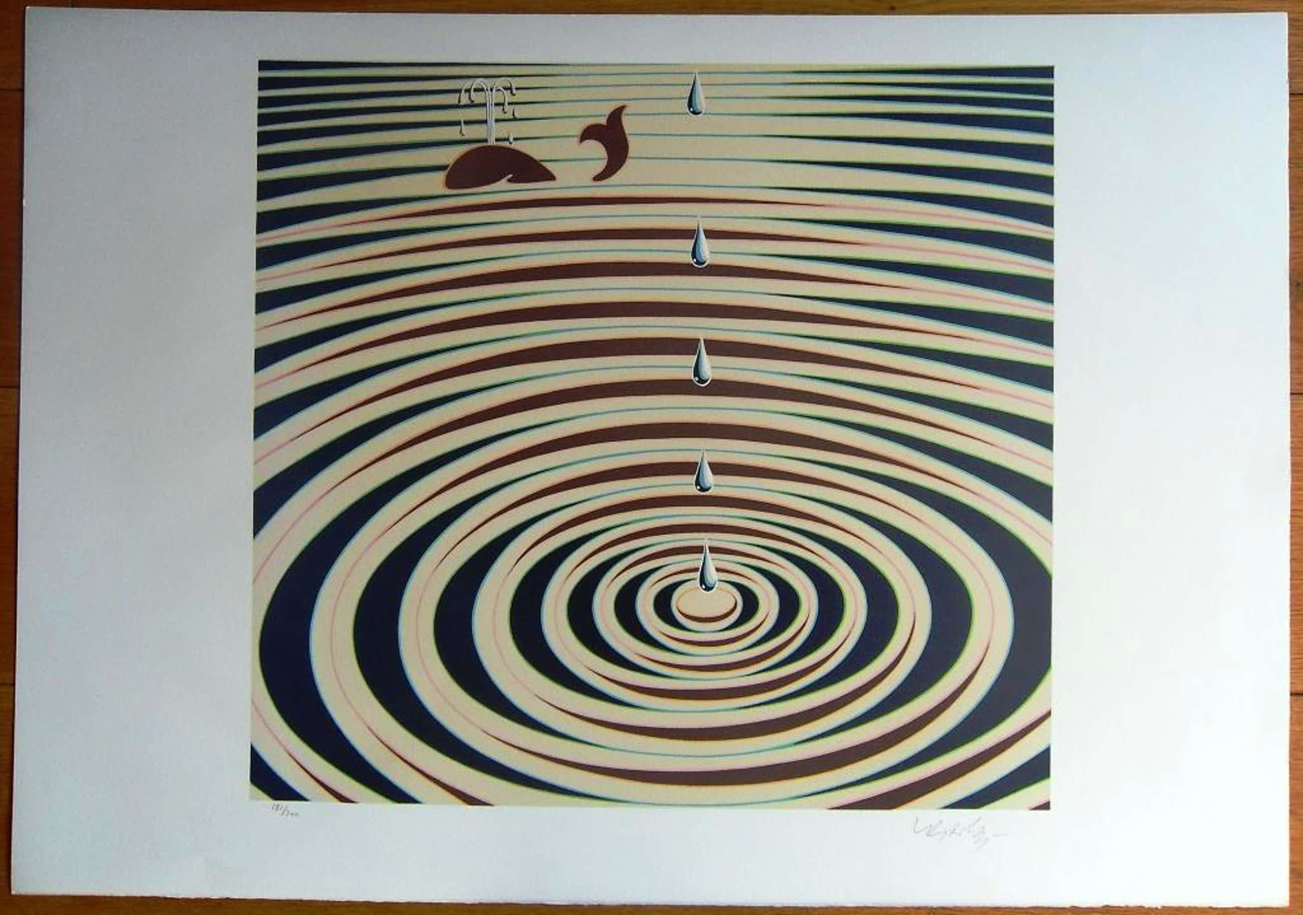 Vasarely: etude de mouvement (lithografie) kopen? Bied vanaf 230!