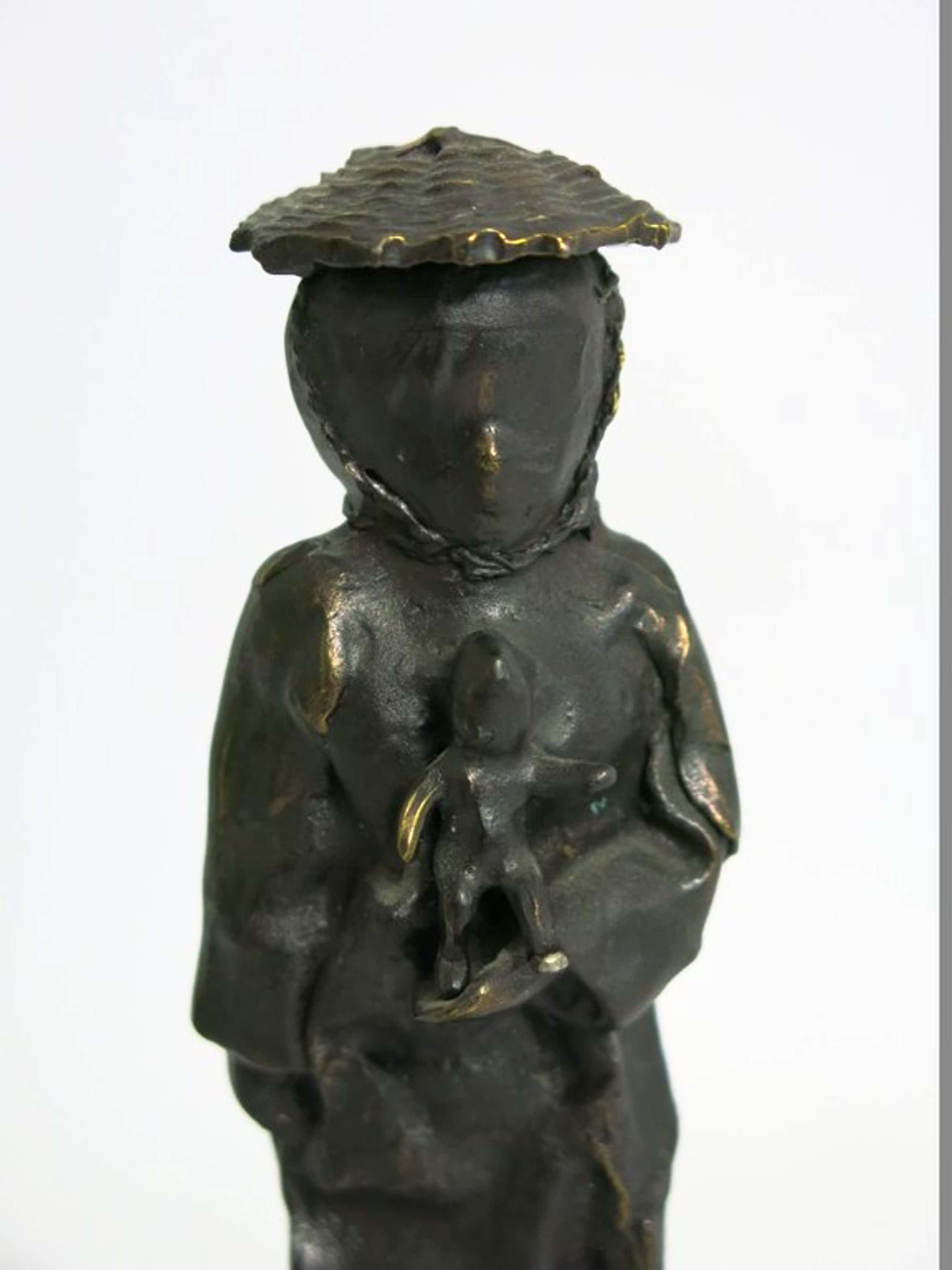 Nicolas Dings: Zeer mooi bronzen beeldje kopen? Bied vanaf 250!
