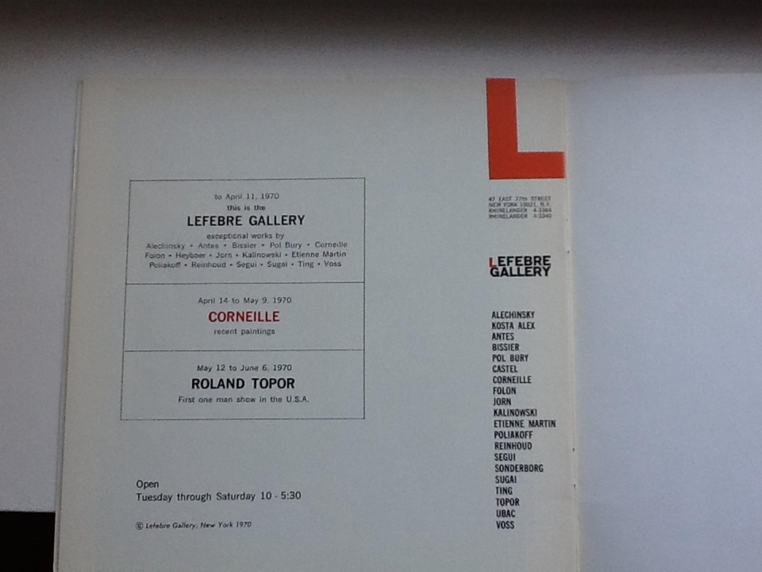 litho Corneille/ Lefebre gallery kopen? Bied vanaf 79!