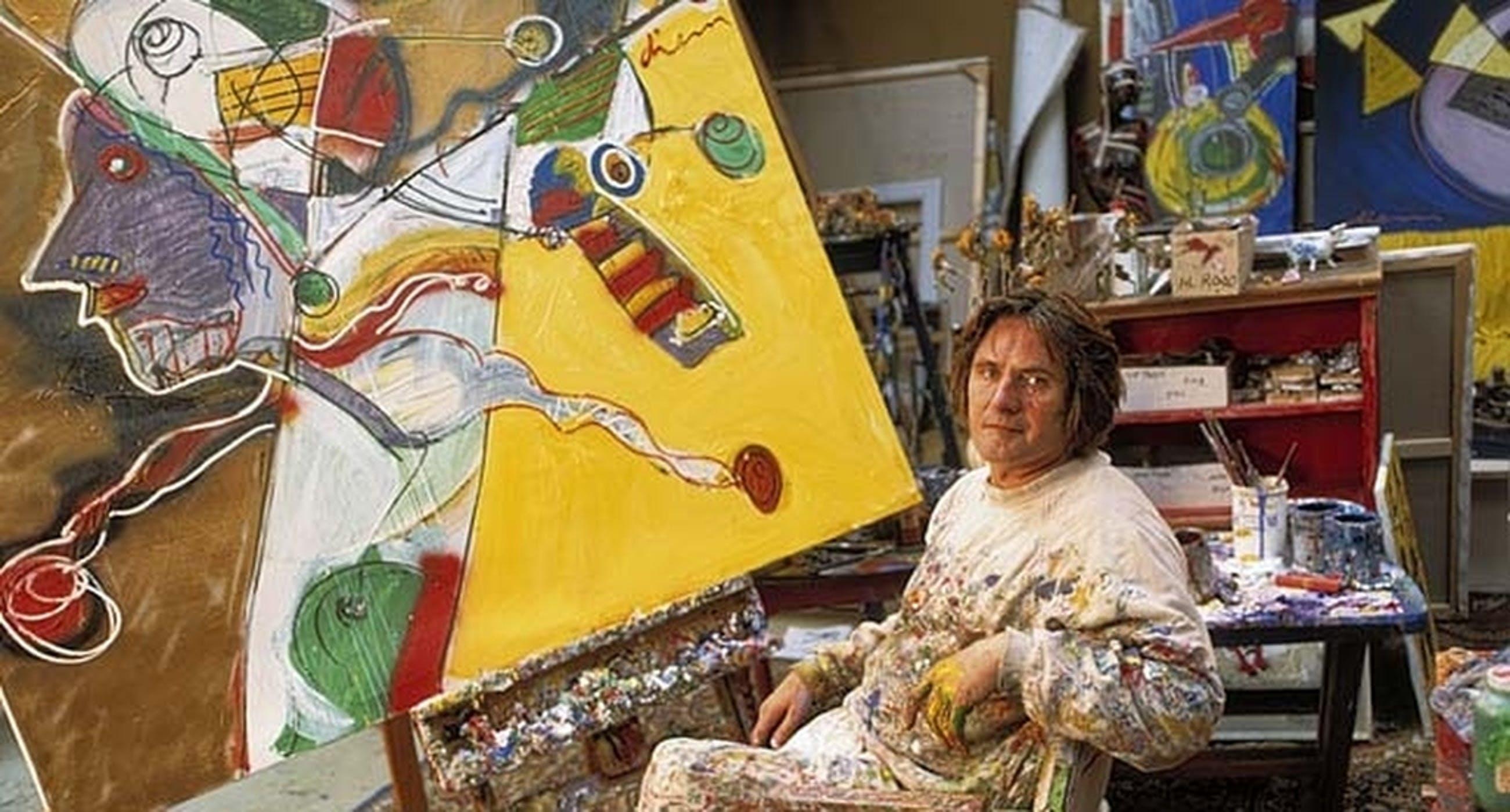 PETER DIEM, grote handgesigneerde en gelimiteerde zeefdruk 'Designers Cow Red' kopen? Bied vanaf 1!