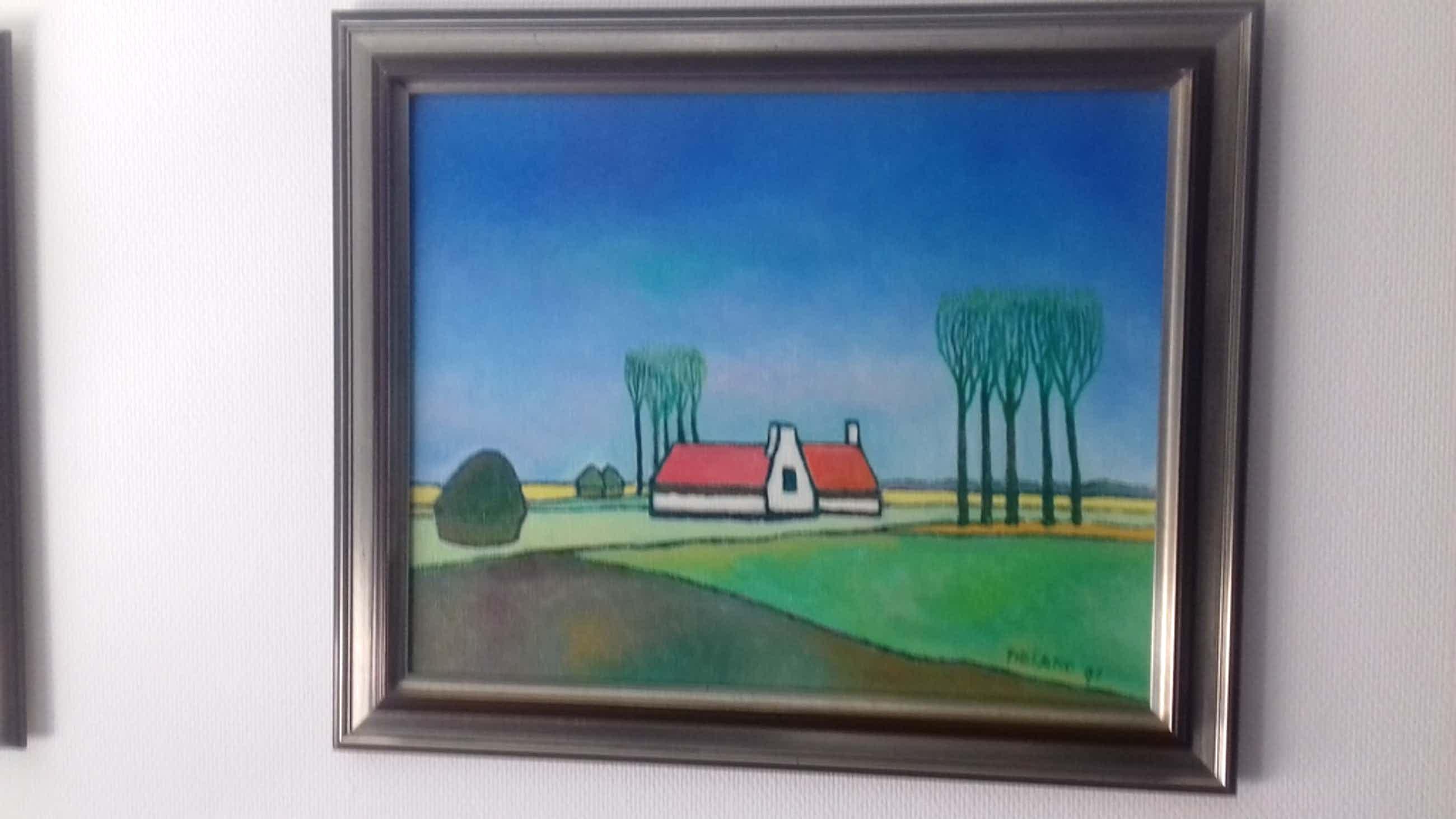 Vlaanderen 2 schilderijen van Toon Tieland kopen? Bied vanaf 4500!
