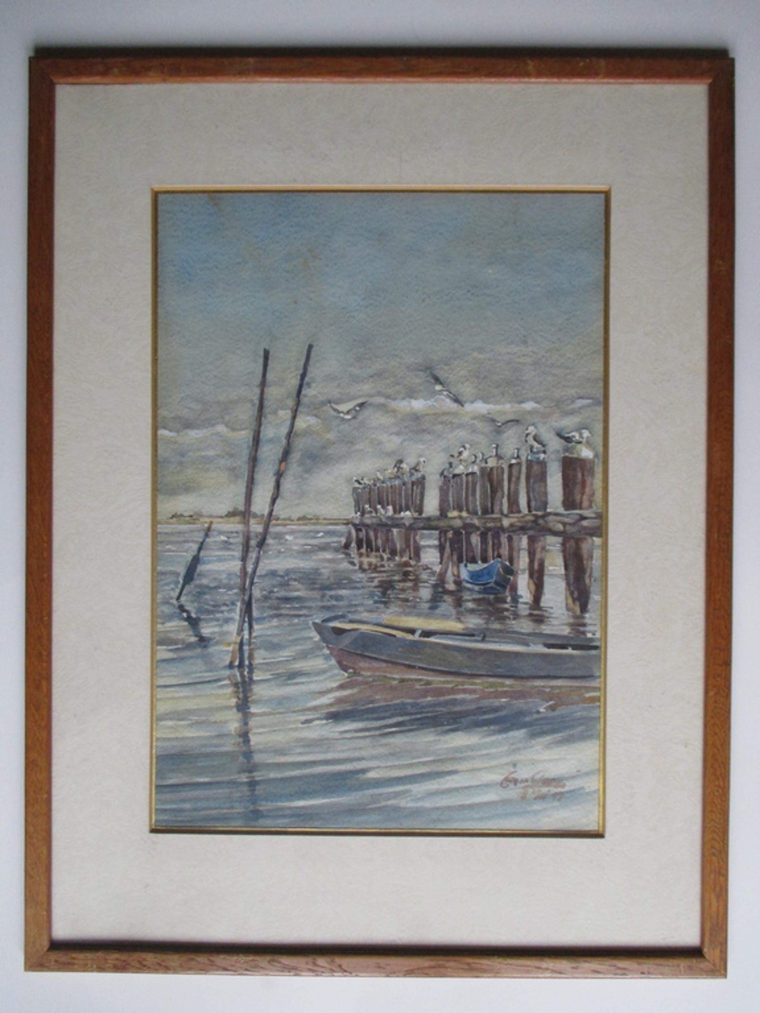 Jan van Geem, aquarel, ingelijst kopen? Bied vanaf 25!