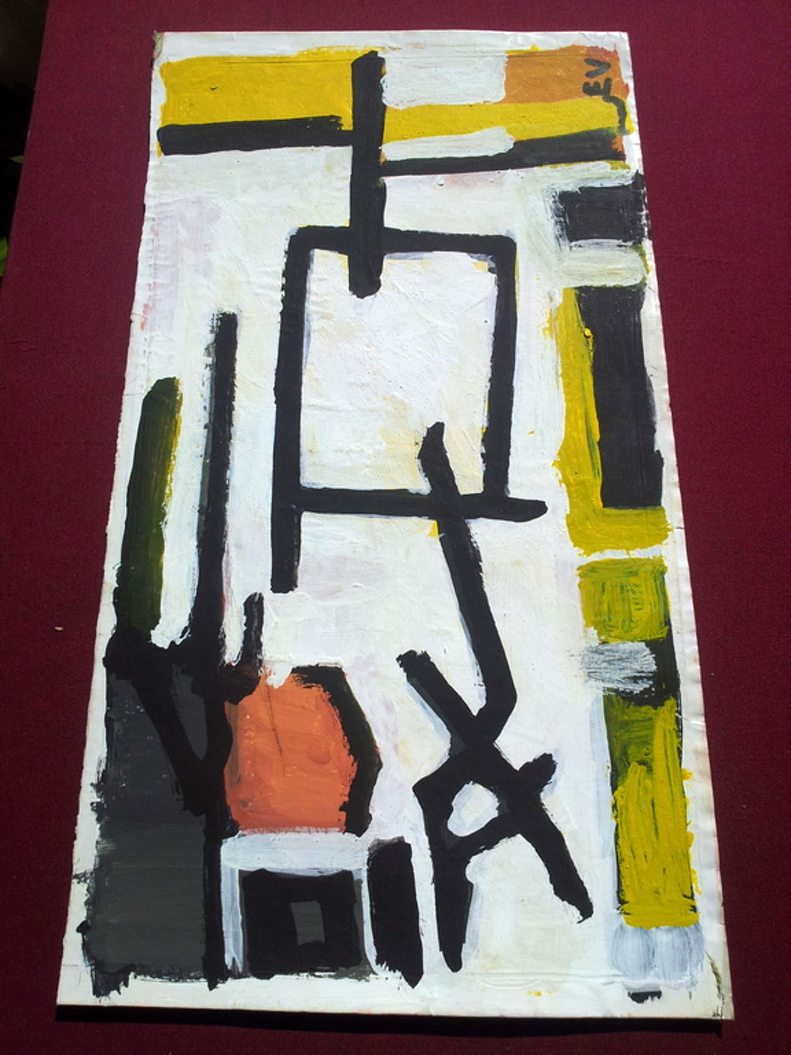 abstract gemon. E V acryl kopen? Bied vanaf 91!