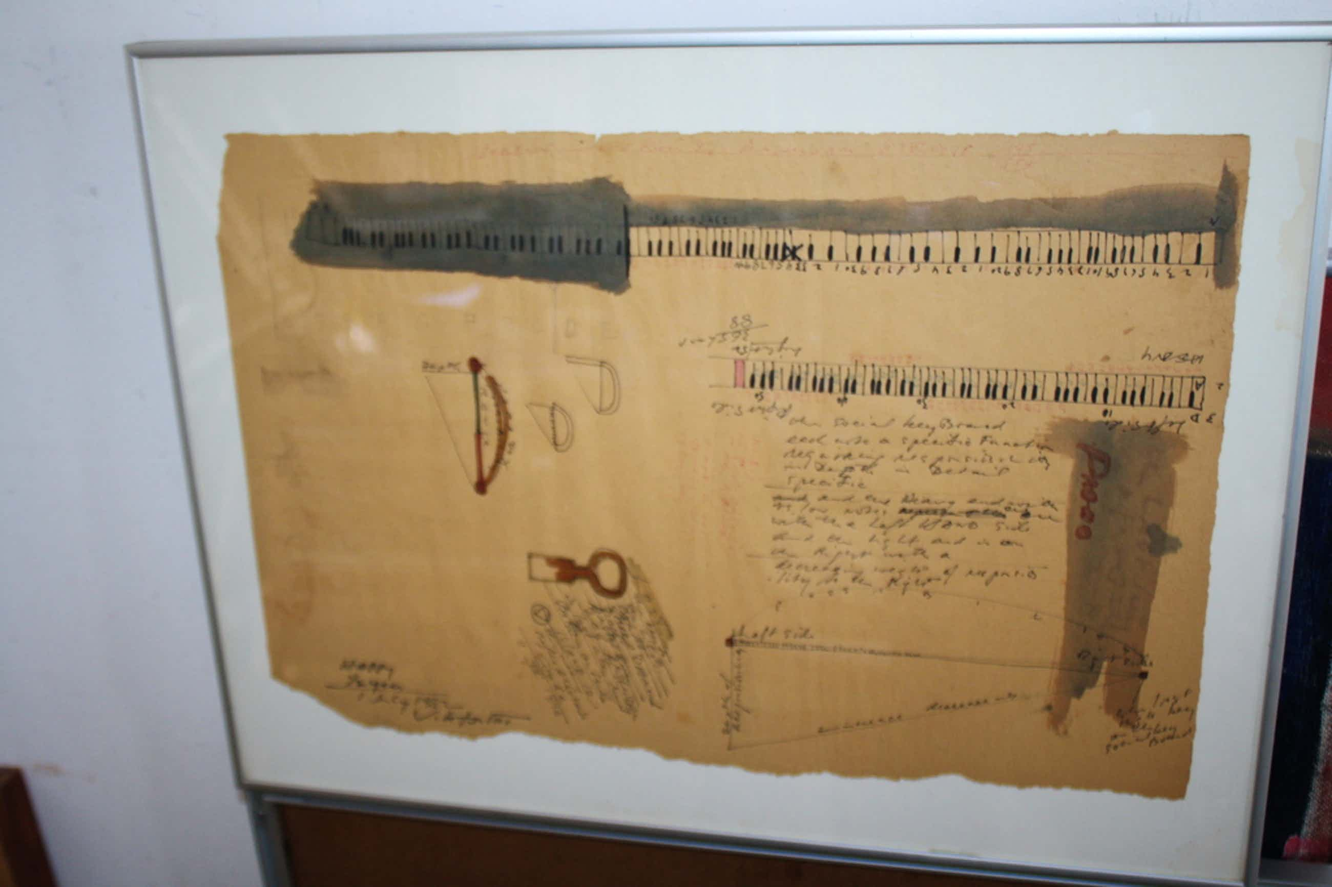 tekening VICTOR IV - PIANO kopen? Bied vanaf 350!
