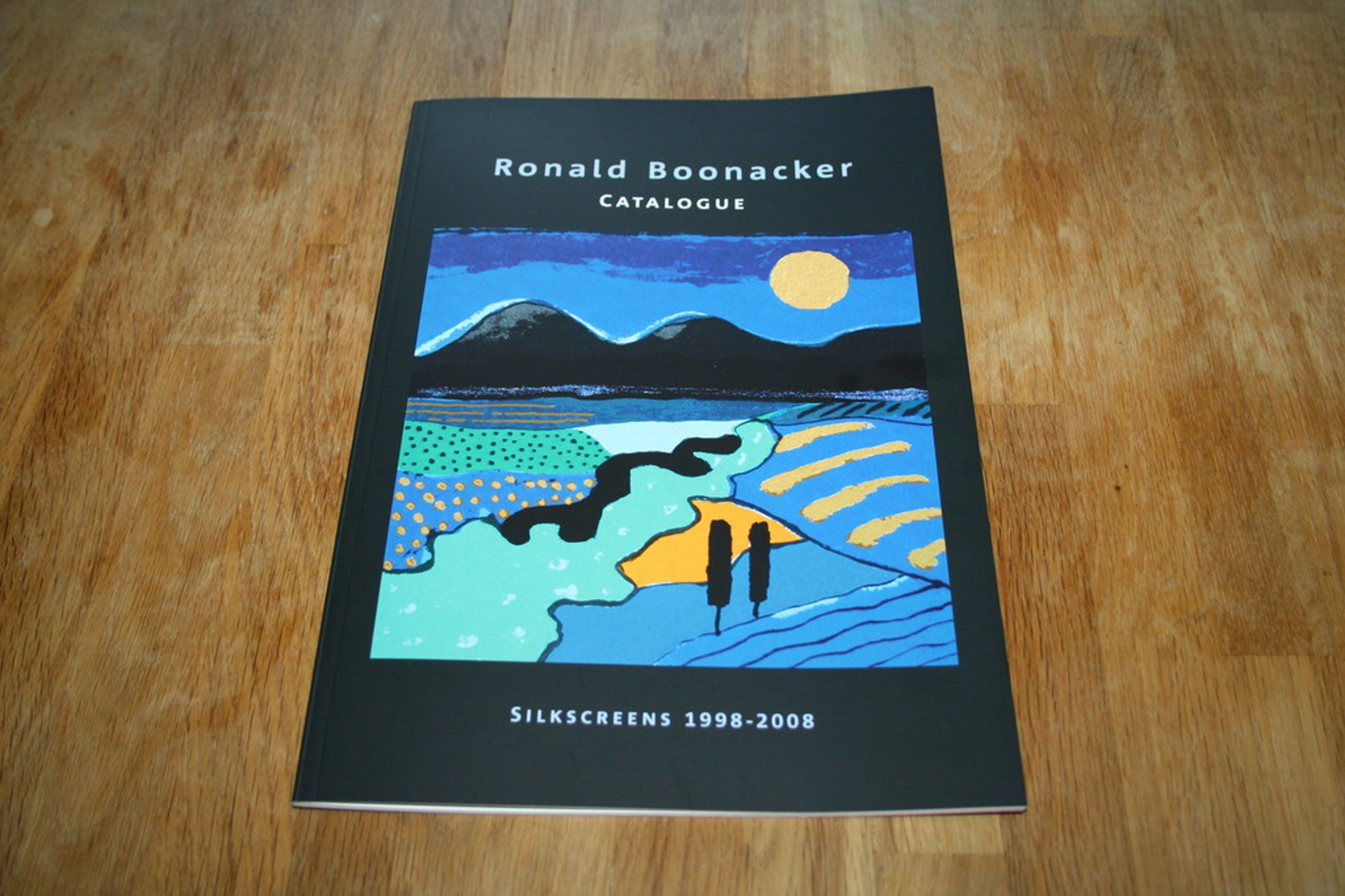 Ronald Boonacker, Catalogus Zeefdrukken 1998 - 2008 kopen? Bied vanaf 1!