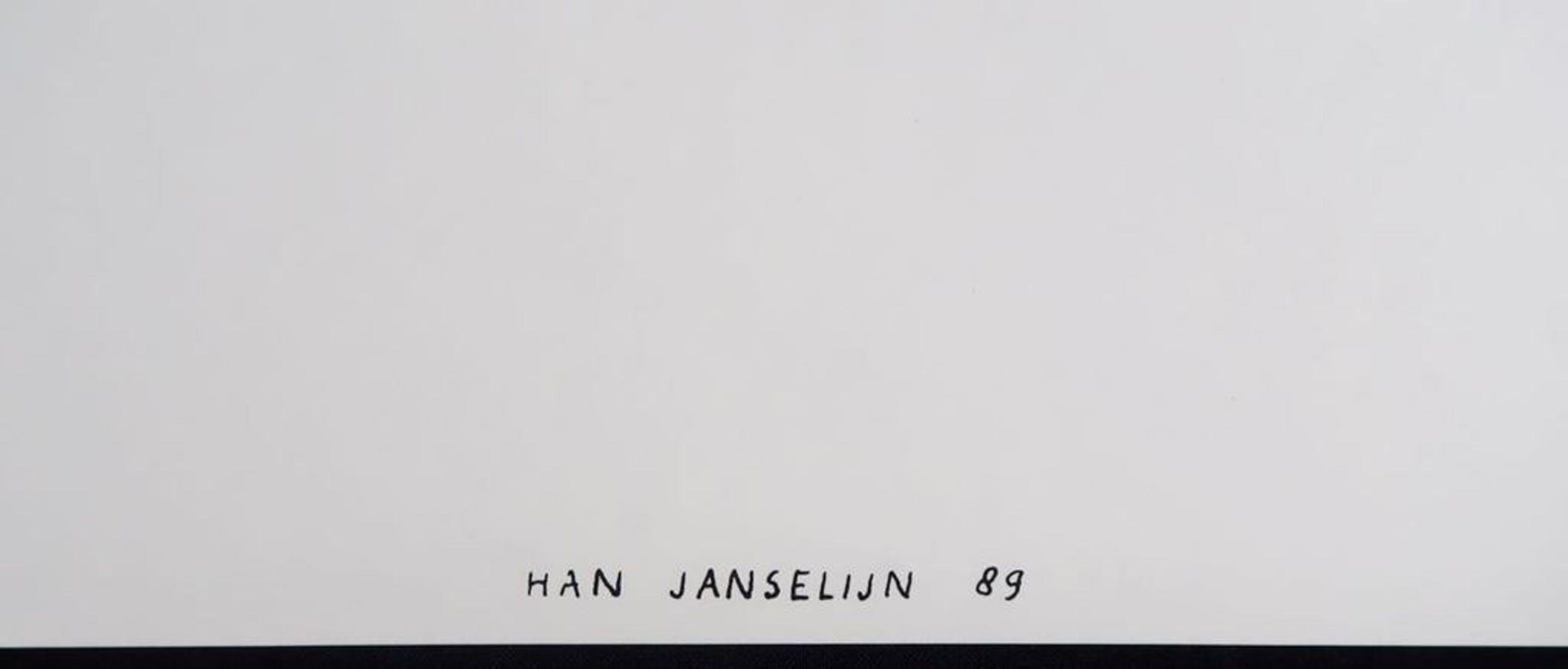 Han Janselijn: Zeefdruk, Zonder titel kopen? Bied vanaf 1!