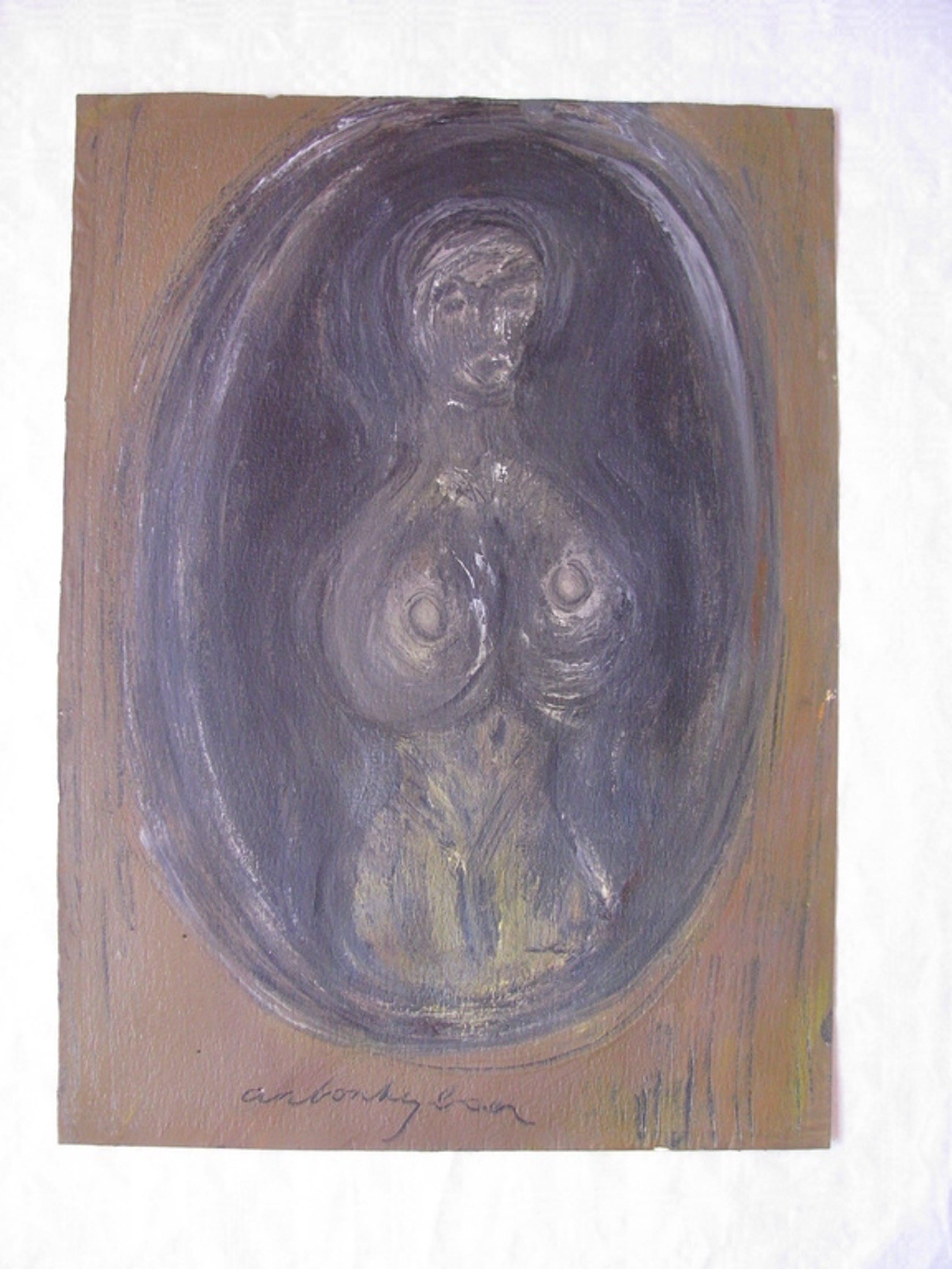 Anton Heyboer - Zwarte Madonna kopen? Bied vanaf 175!