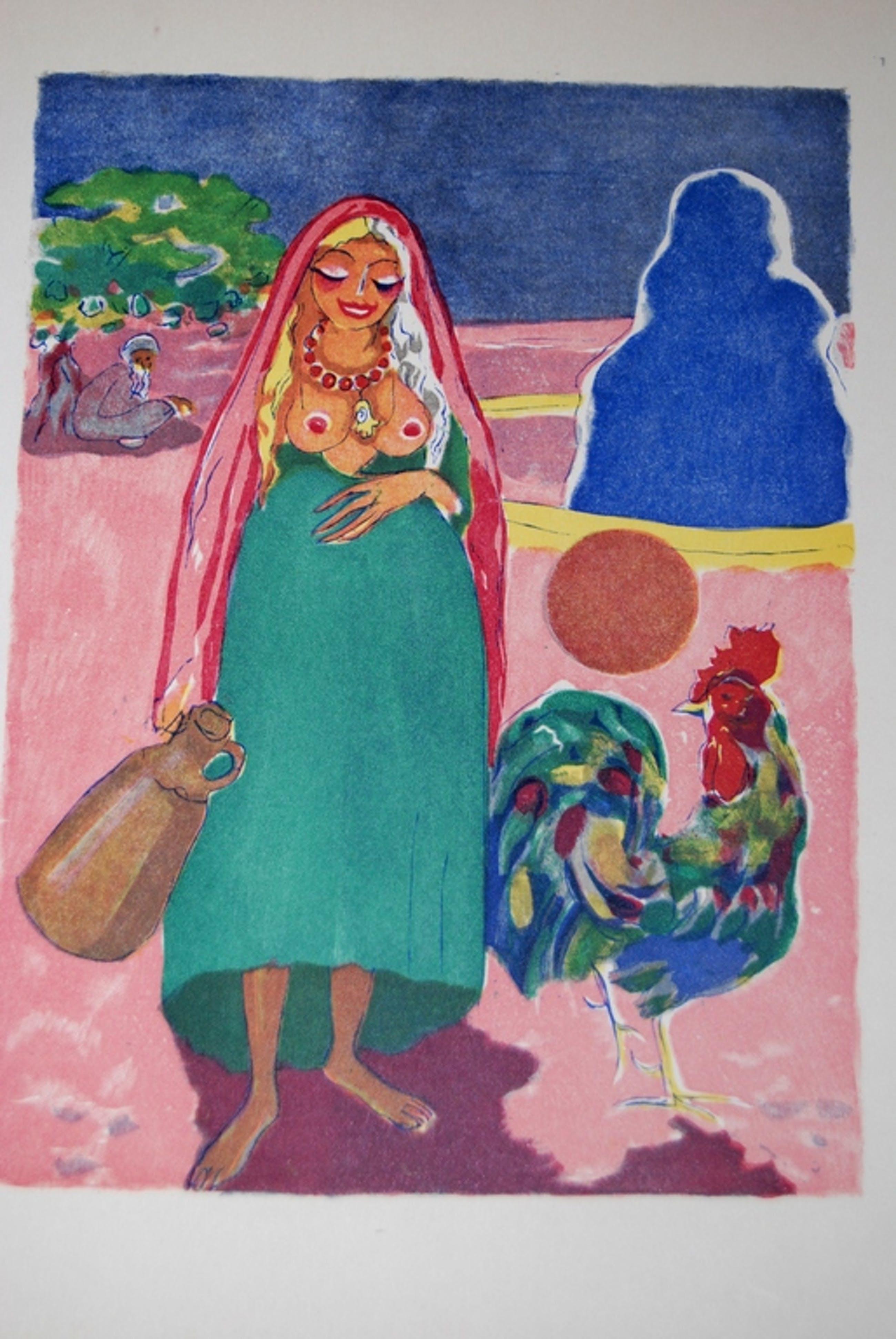 Kees van Dongen, Houtgravure uit Mille Nuits et un Nuit 1955 kopen? Bied vanaf 40!