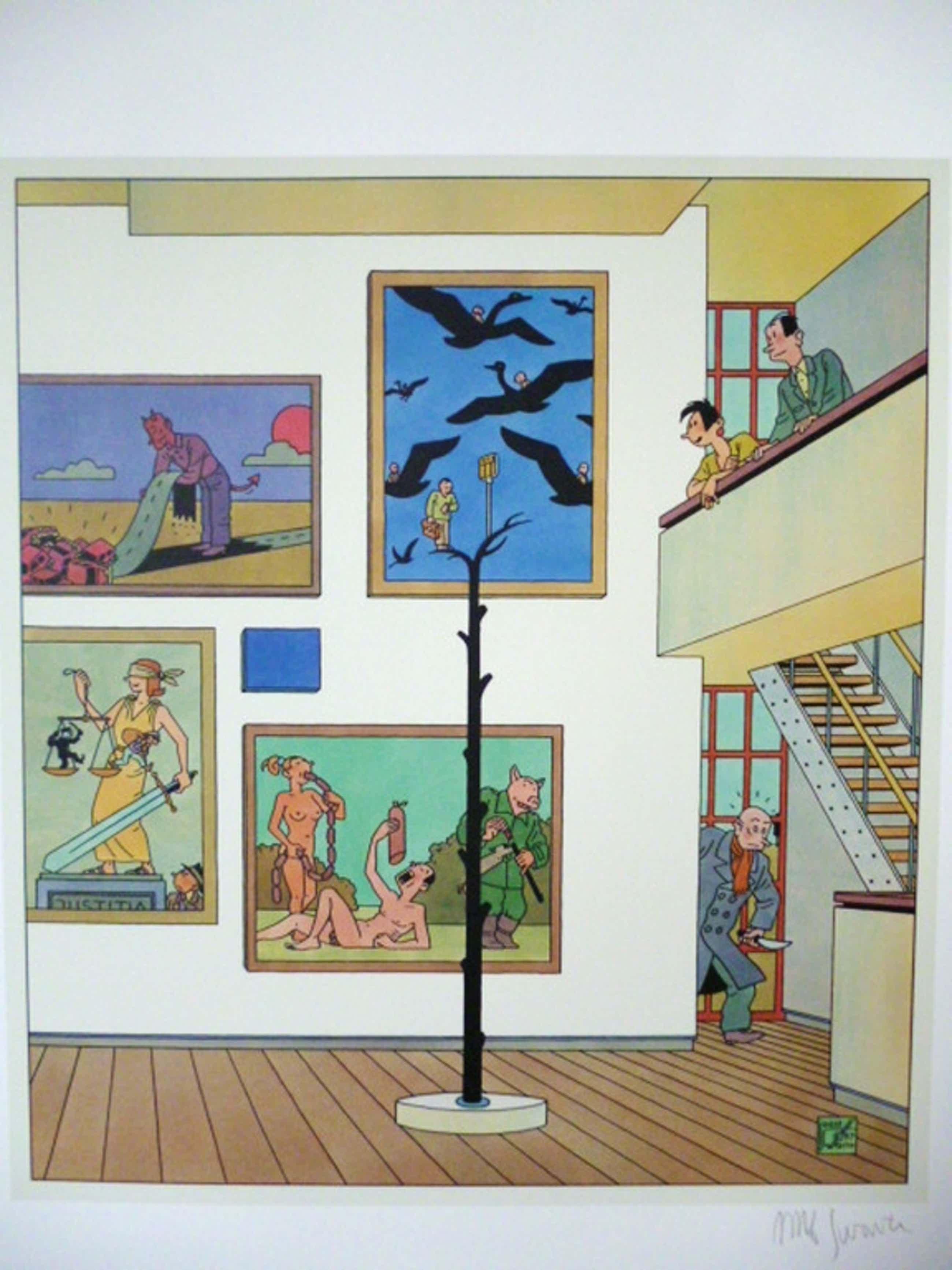 Het Museum voor Eigentijdse Kunst kopen? Bied vanaf 45!