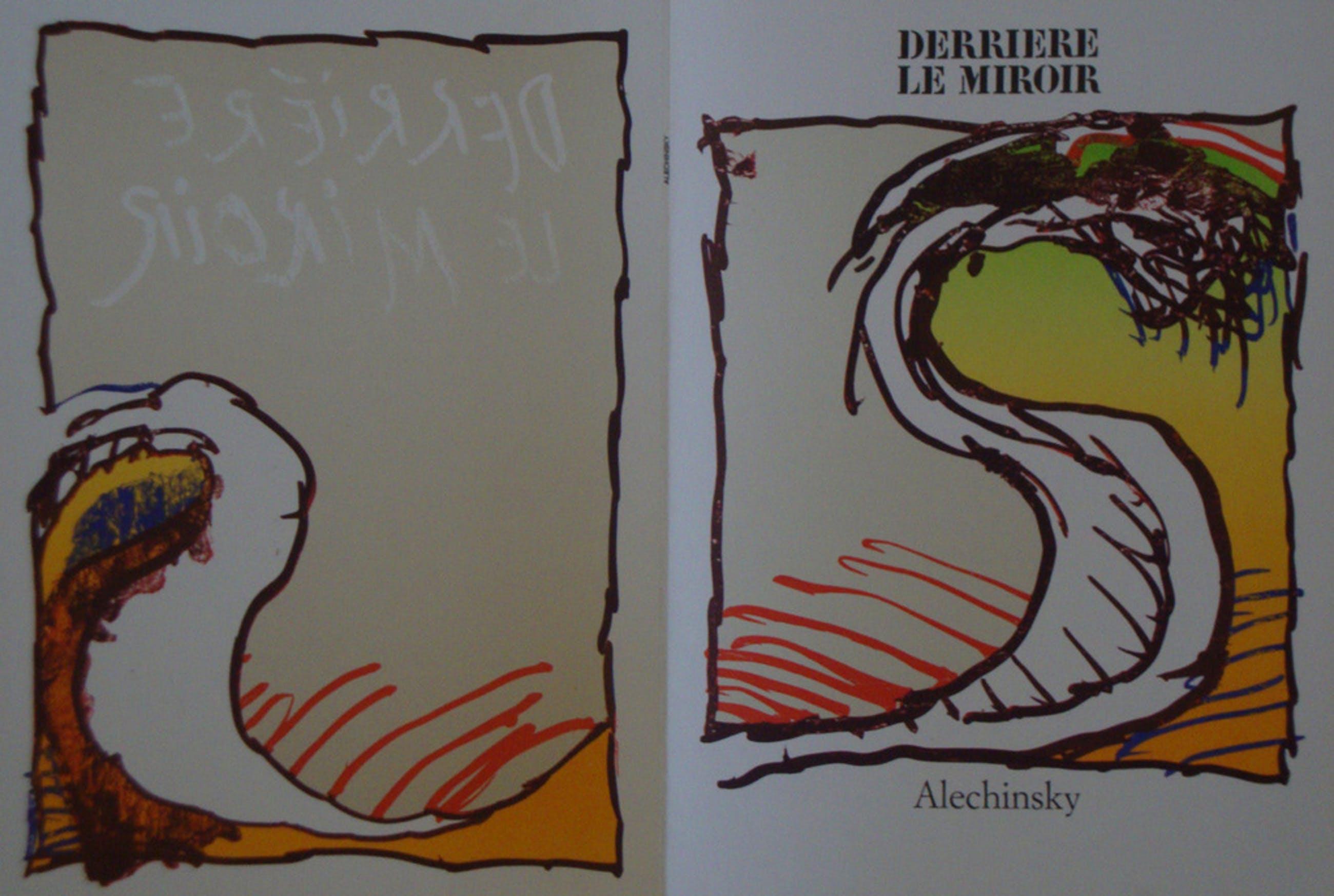 Pierre Alechinsky: 2 mooie litho's uit de DLM 247 kopen? Bied vanaf 1!