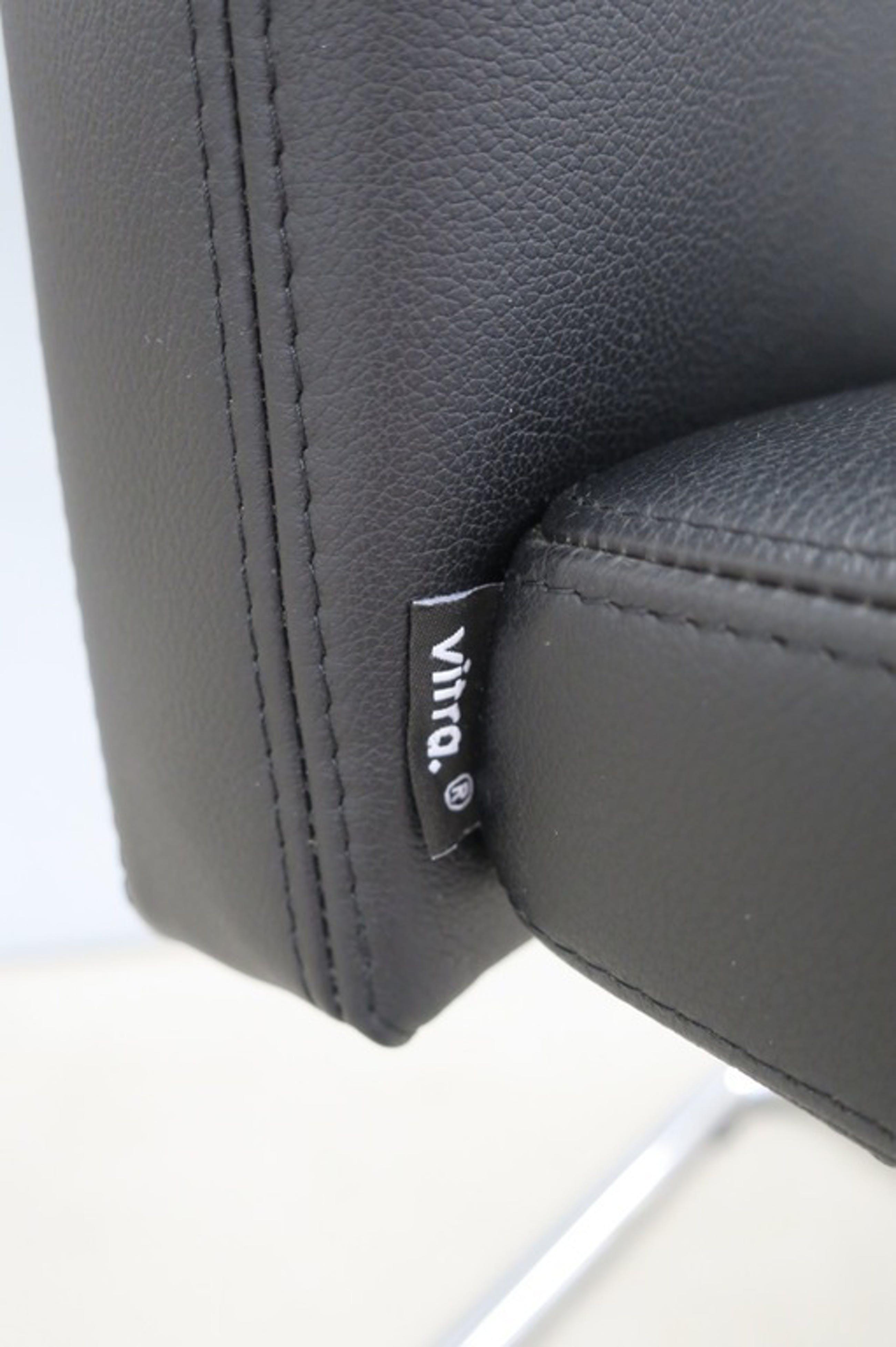 Vitra: 6 x leren Visasoft Chair  kopen? Bied vanaf 300!