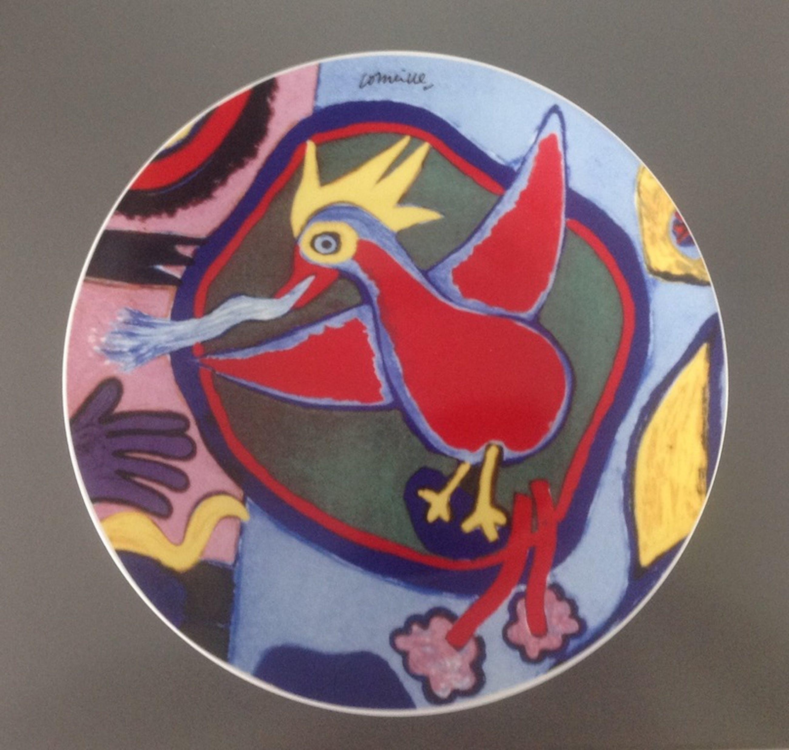 CORNEILLE - porseleinen bord, De Vuurvogel kopen? Bied vanaf 35!