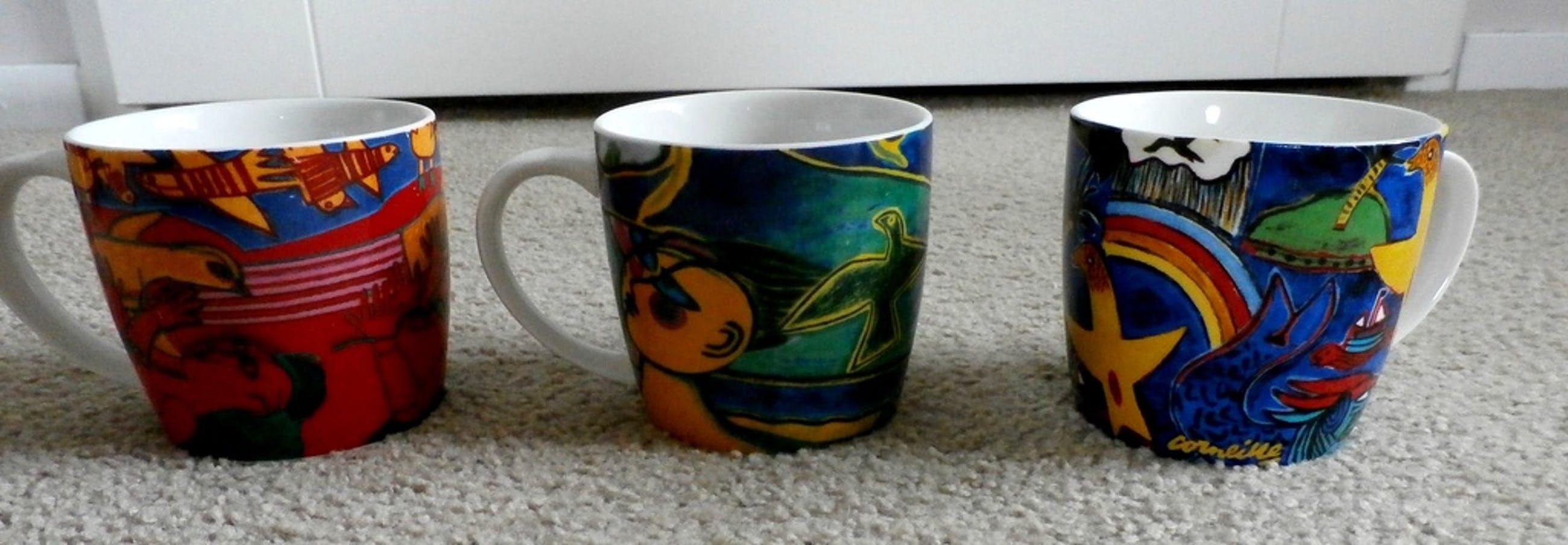 Corneille: 10 koffie/ thee mokken kopen? Bied vanaf 25!
