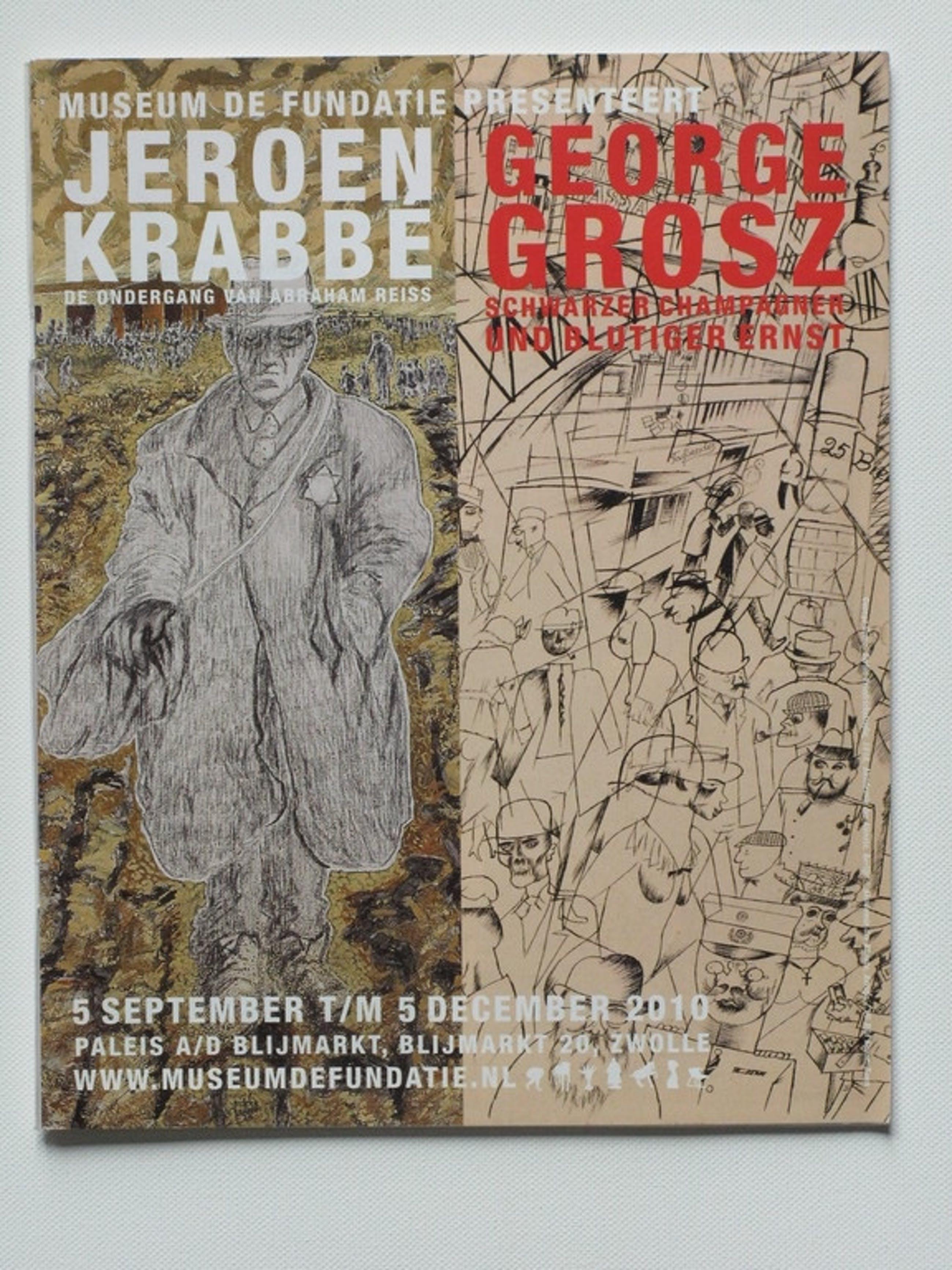 JEROEN KRABBE - modern werk - lithografie + Thema nr MUSEUM TIJDSCHRIFT.  kopen? Bied vanaf 60!