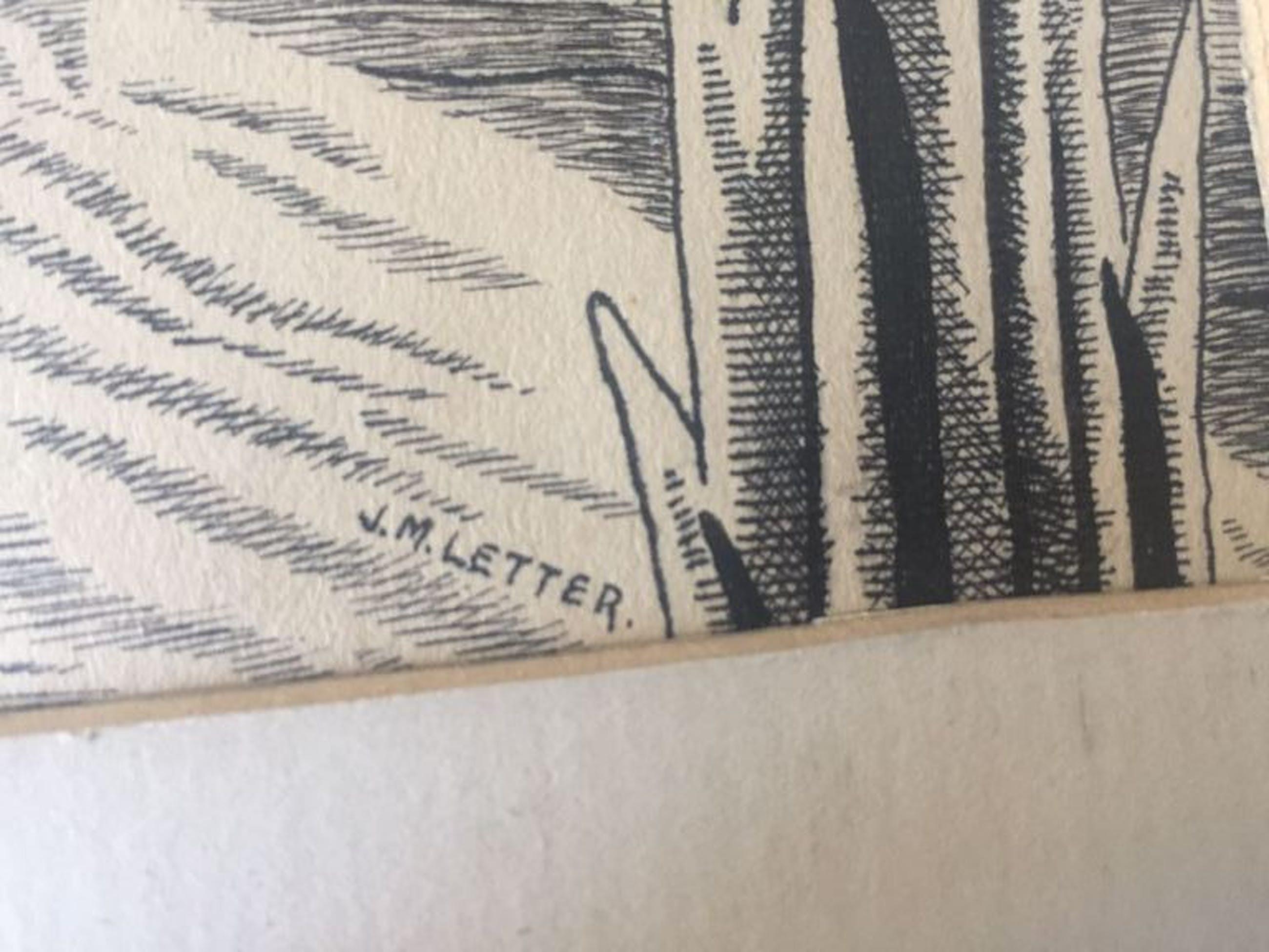 Jan Letter: Pentekening, Het gesprek kopen? Bied vanaf 25!