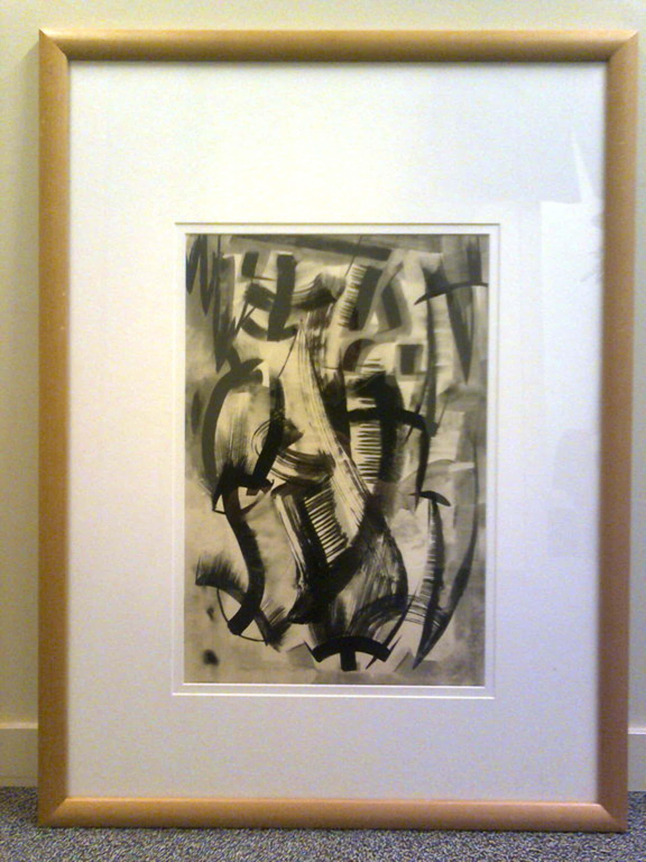 C.H. ter Reehorst Verf op papier, ingelijst 50x80cm  kopen? Bied vanaf 95!