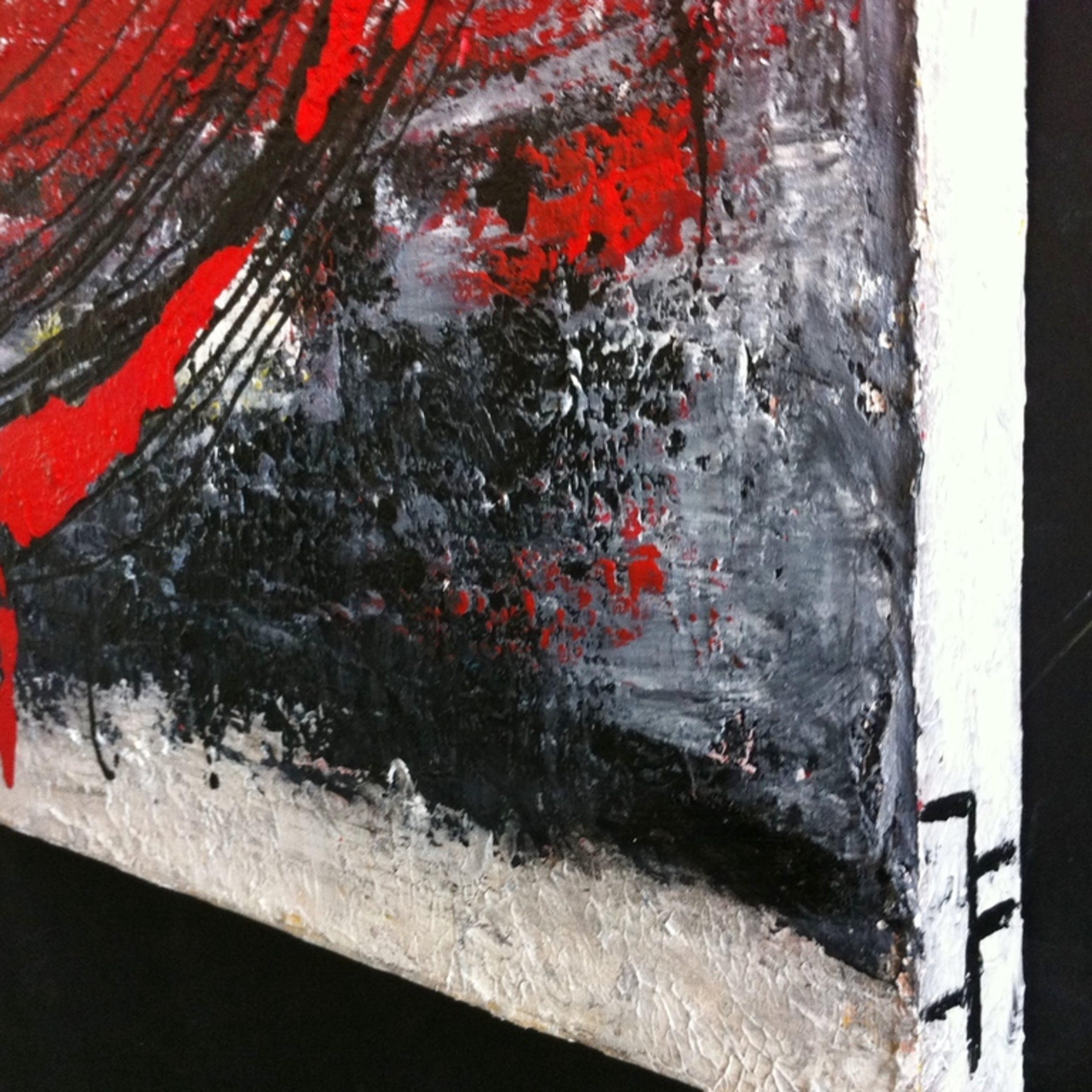 """What goes around comes around #02.""John Foppen -Olie/Acryl.-3D Canvas - Gesign kopen? Bied vanaf 179!"