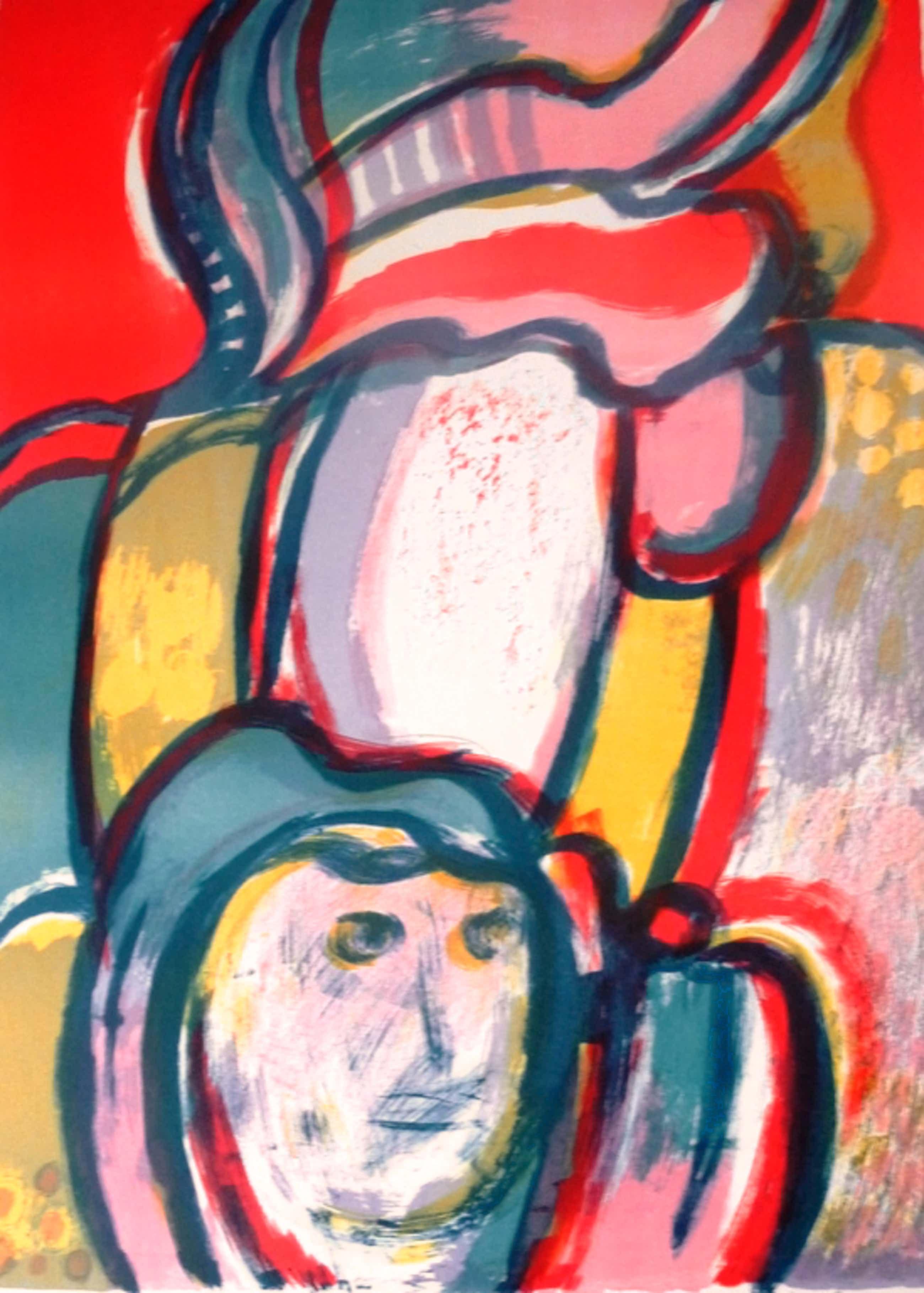 Jan Cobbaert, litho, handgesigneerd, 1970 kopen? Bied vanaf 350!