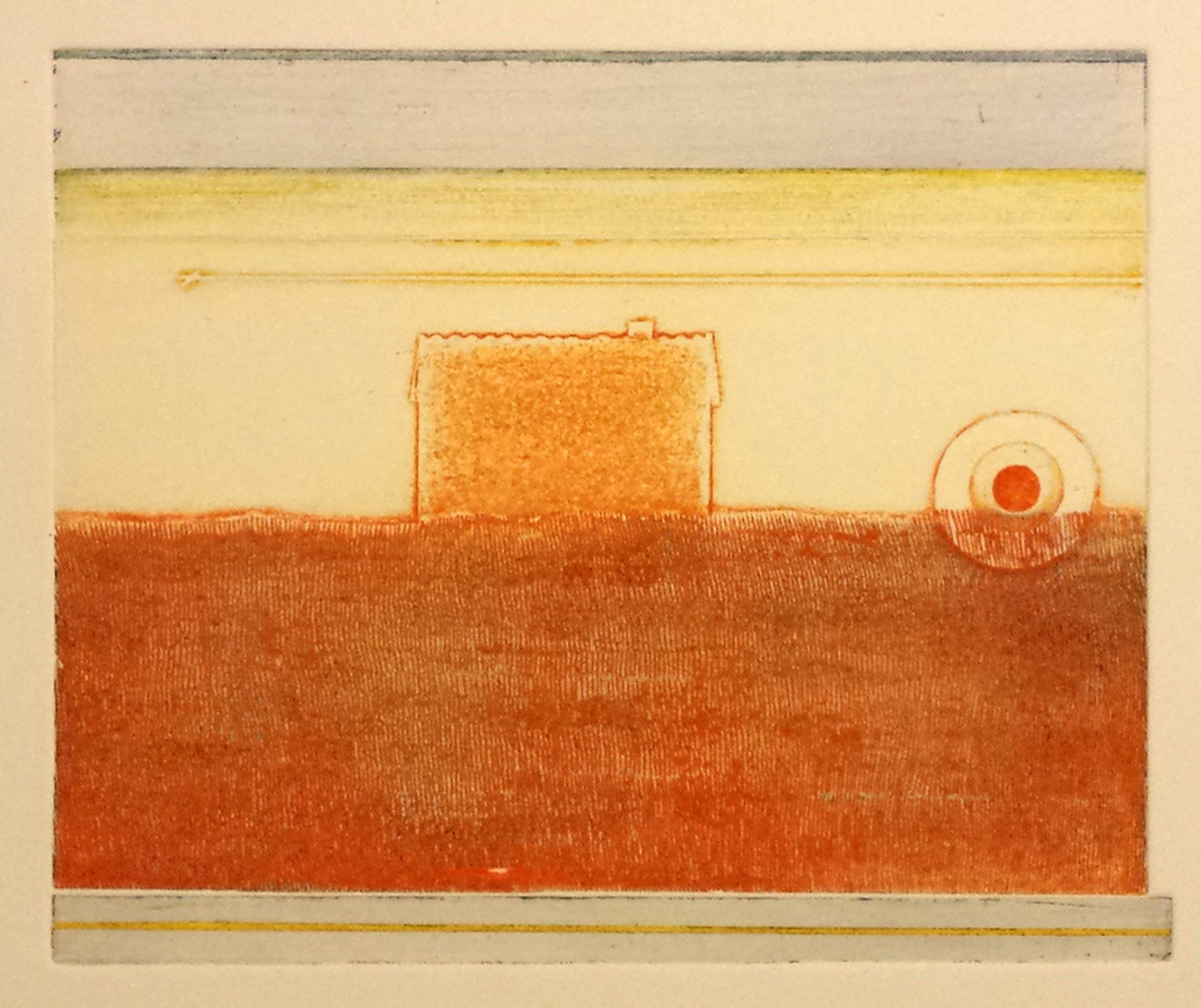 Eduard Flor, Ets nr 5, tijd, 1974 kopen? Bied vanaf 5!