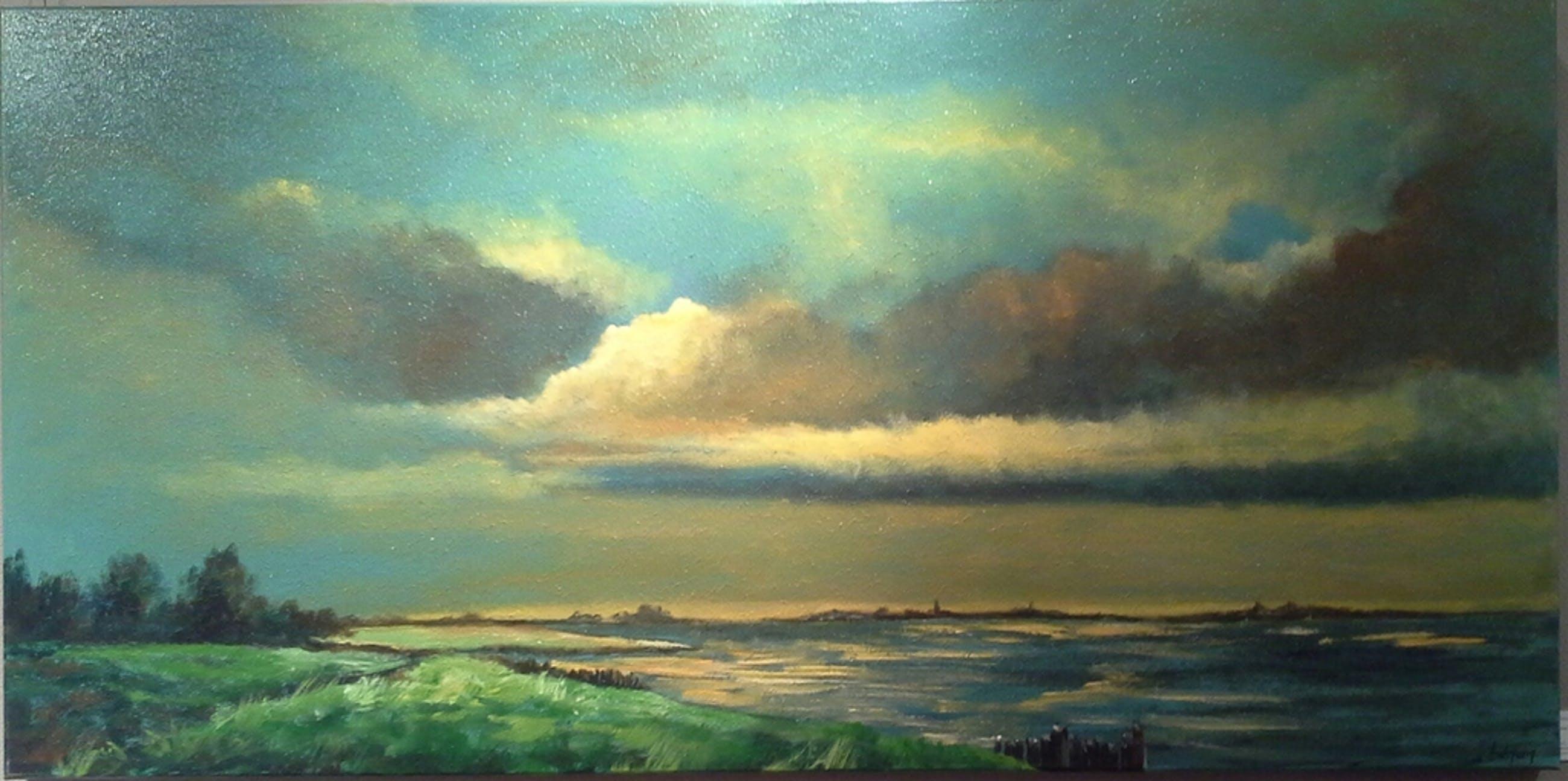 Olieverfschilderij van Barbra de Jong kopen? Bied vanaf 100!