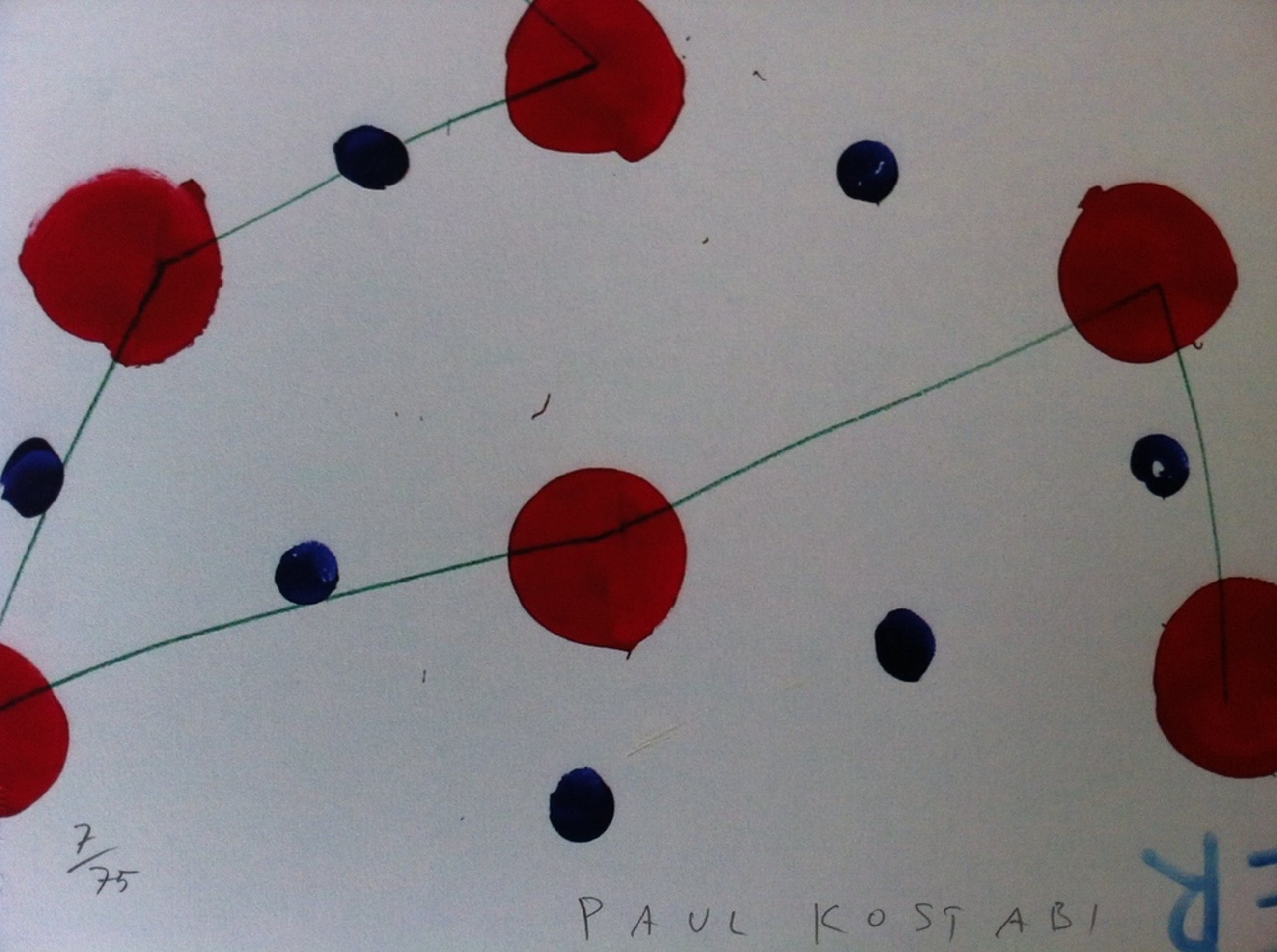 Paul Kostabi - 32 (16+16) - handgesigneerd en genummerd  kopen? Bied vanaf 45!