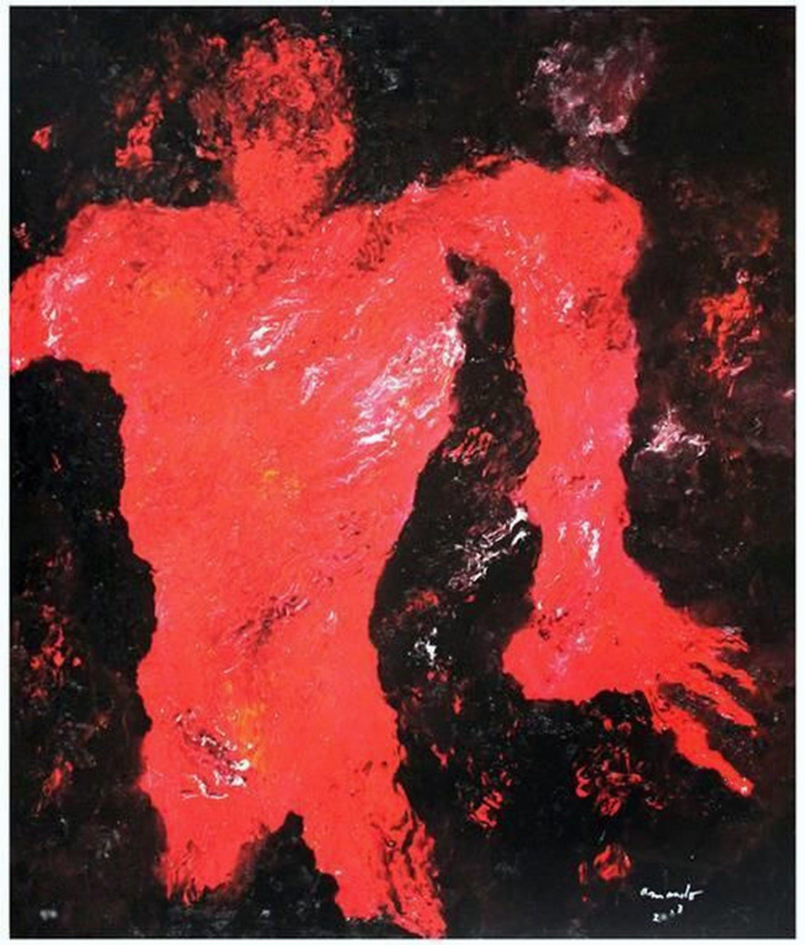 Armando 'Gestalt' - Gesigneerde giclee op doek, oplage 7/33., 2013 kopen? Bied vanaf 275!