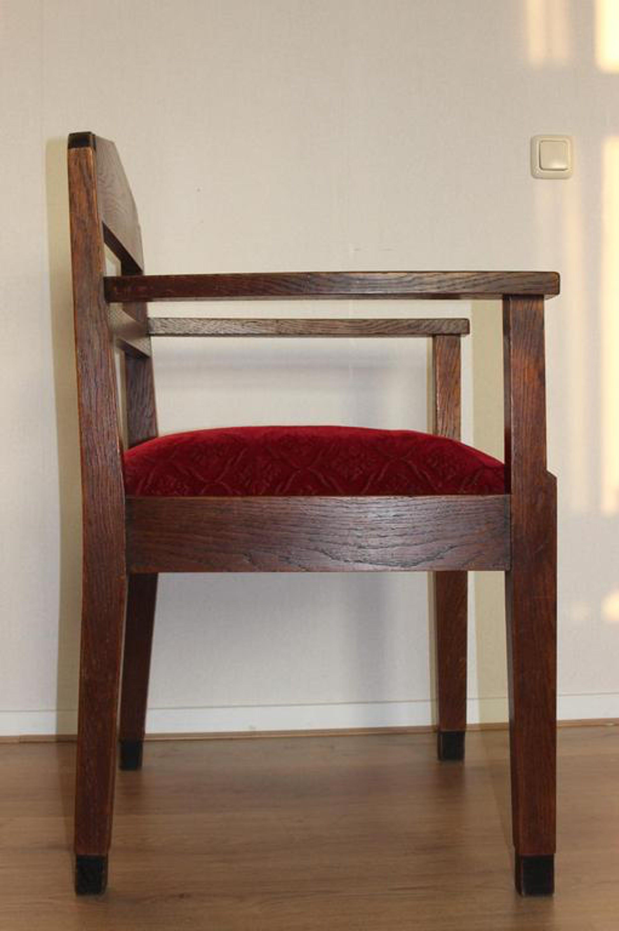 Nieuw 2 Amsterdamse School fauteuil stoelen: Maker onbekend kopen? Bied KO-31