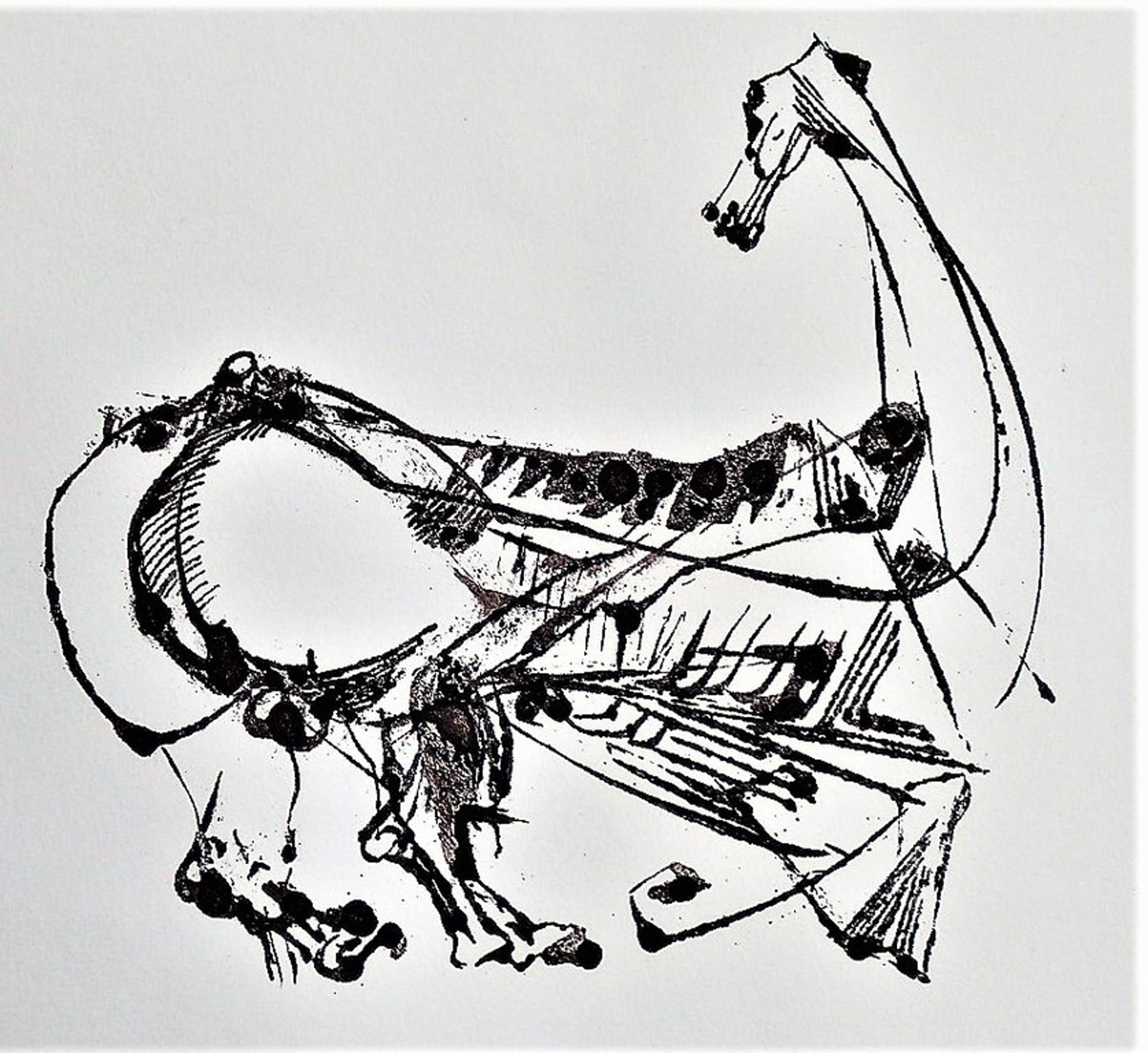 Arthur Spronken - Arthur Spronken : ets - een paard -  kopen? Bied vanaf 170!