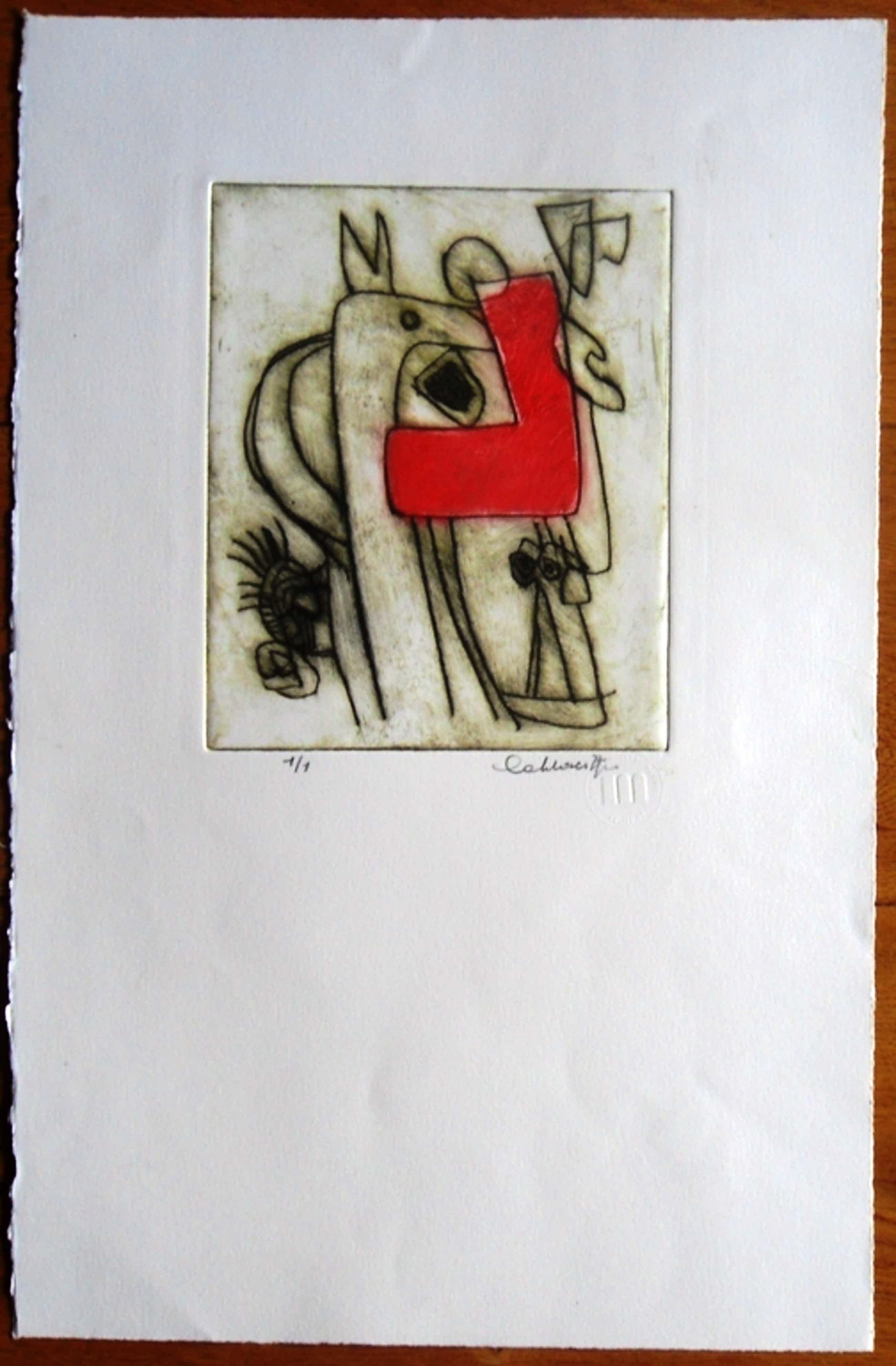 Jan Cobbaert: compositie 1 , zeldzame kleurets kopen? Bied vanaf 199!