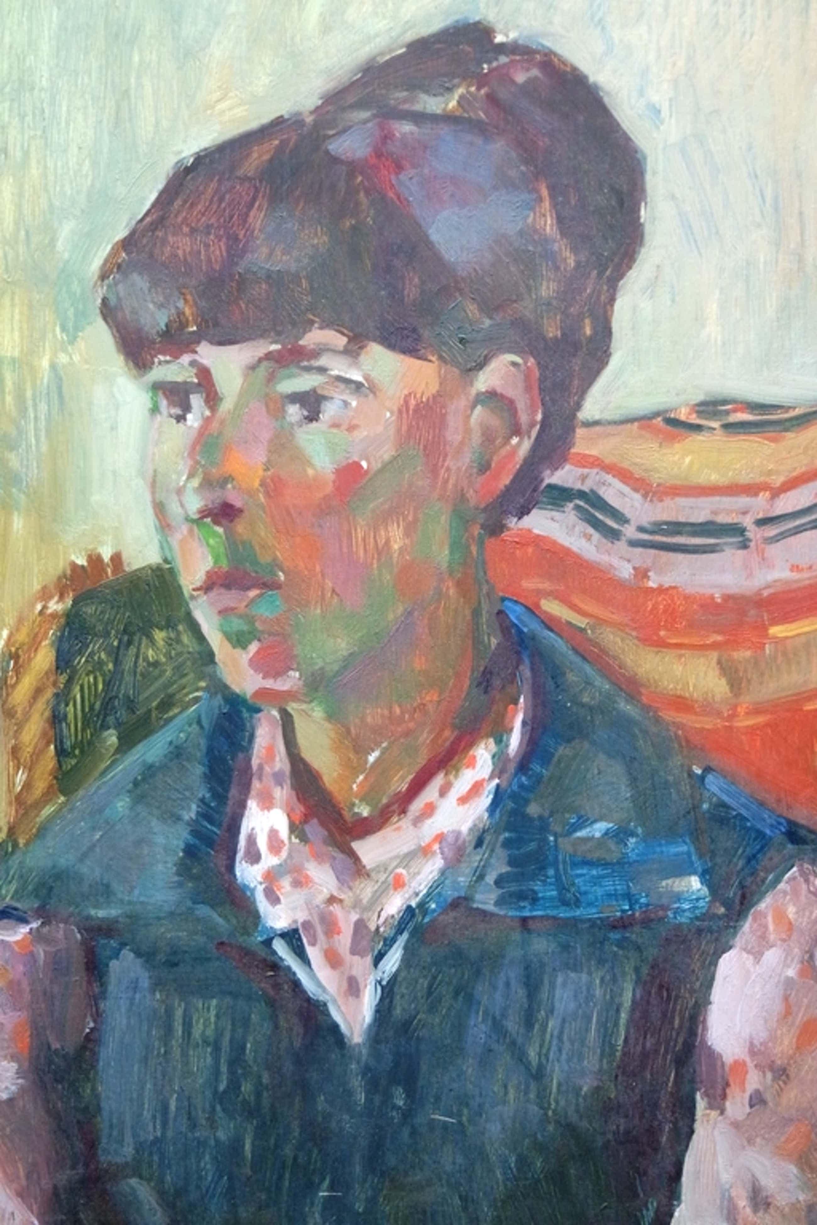 Albert van DALSUM (1889 - 1971) - olieverf op board - vrouwenportret kopen? Bied vanaf 55!