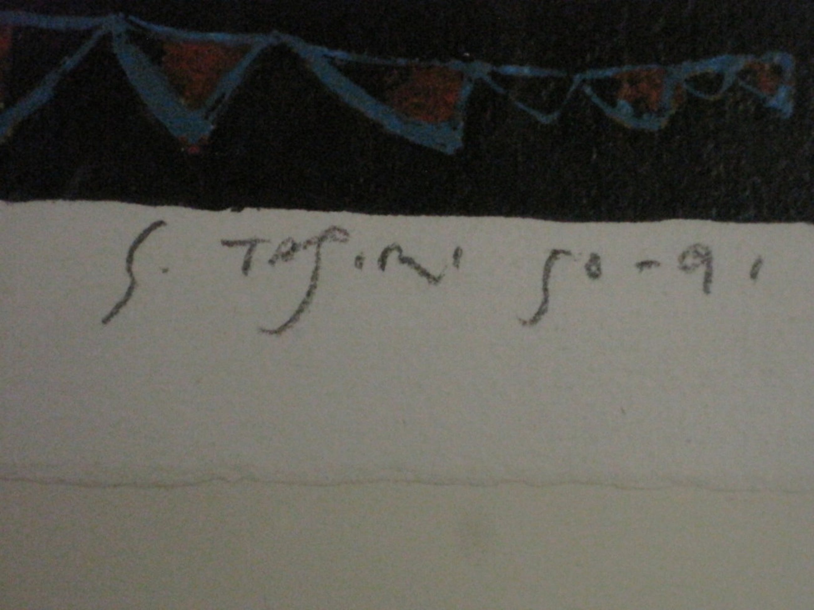 "Shinkichi Tajiri 1923-2009 Litho nr 28 van 200 ""st Joris en de draak"" ZELDZAAM! kopen? Bied vanaf 1!"