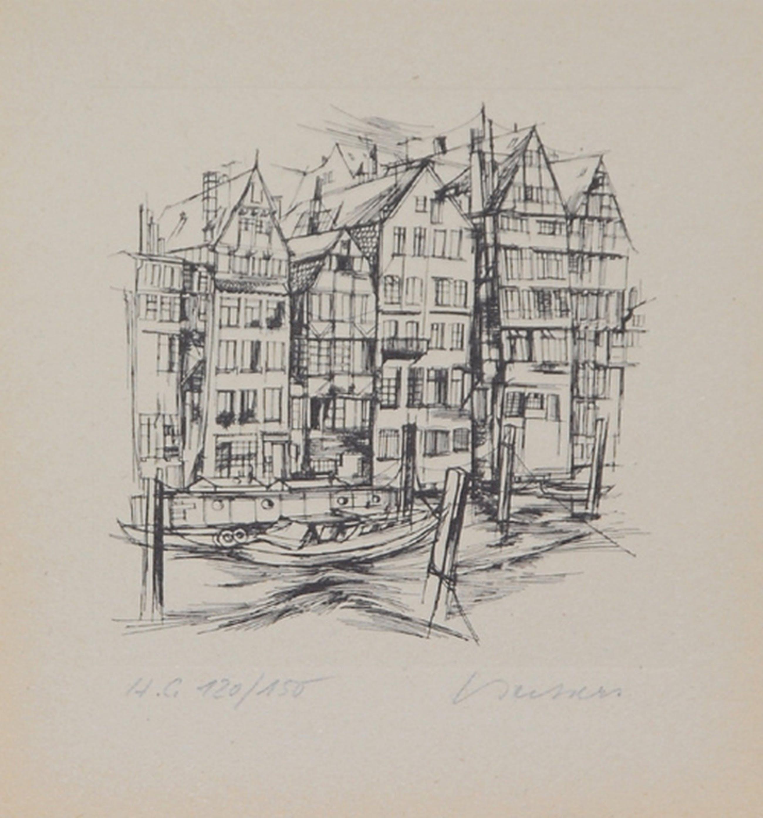 Heinz-Ludwig Beckers: Ets, Amsterdam kopen? Bied vanaf 5!