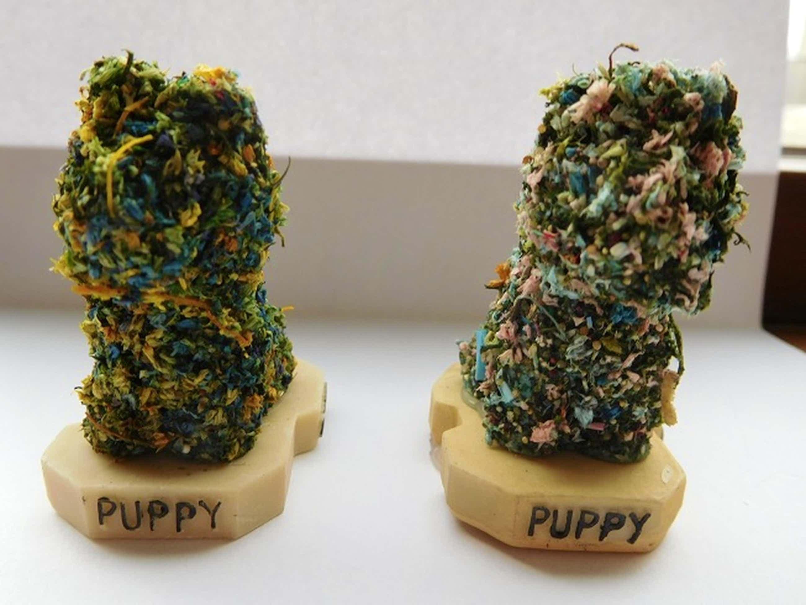 """Jeff Koons, 2 Multiples """"Puppy 1992"""", Bilbao Guggenheim kopen? Bied vanaf 65!"""