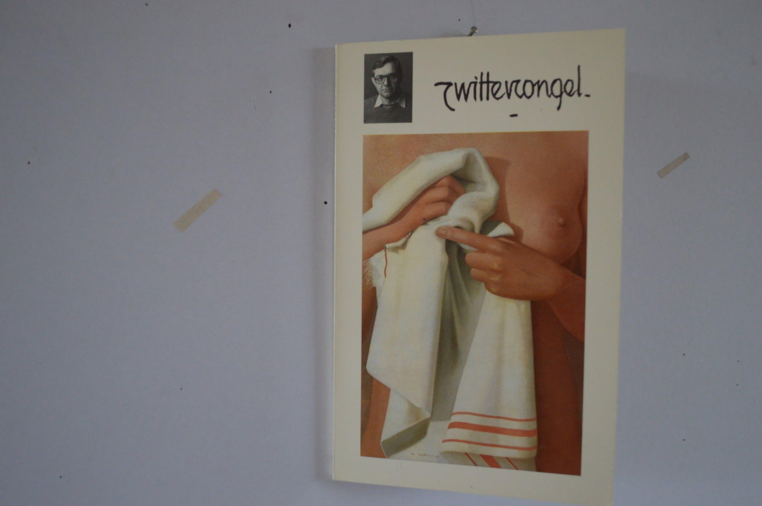Roger Wittevrongel (1933 Blankenberge -  ets, borsten in beha 5x5 - 3/10  kopen? Bied vanaf 50!