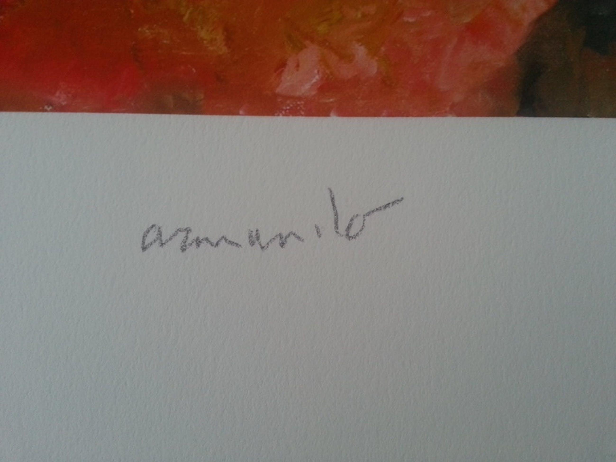 """ARMANDO """"Fundstück"""" Giclee Gesigneerd en Genummerd 9/25 kopen? Bied vanaf 210!"""