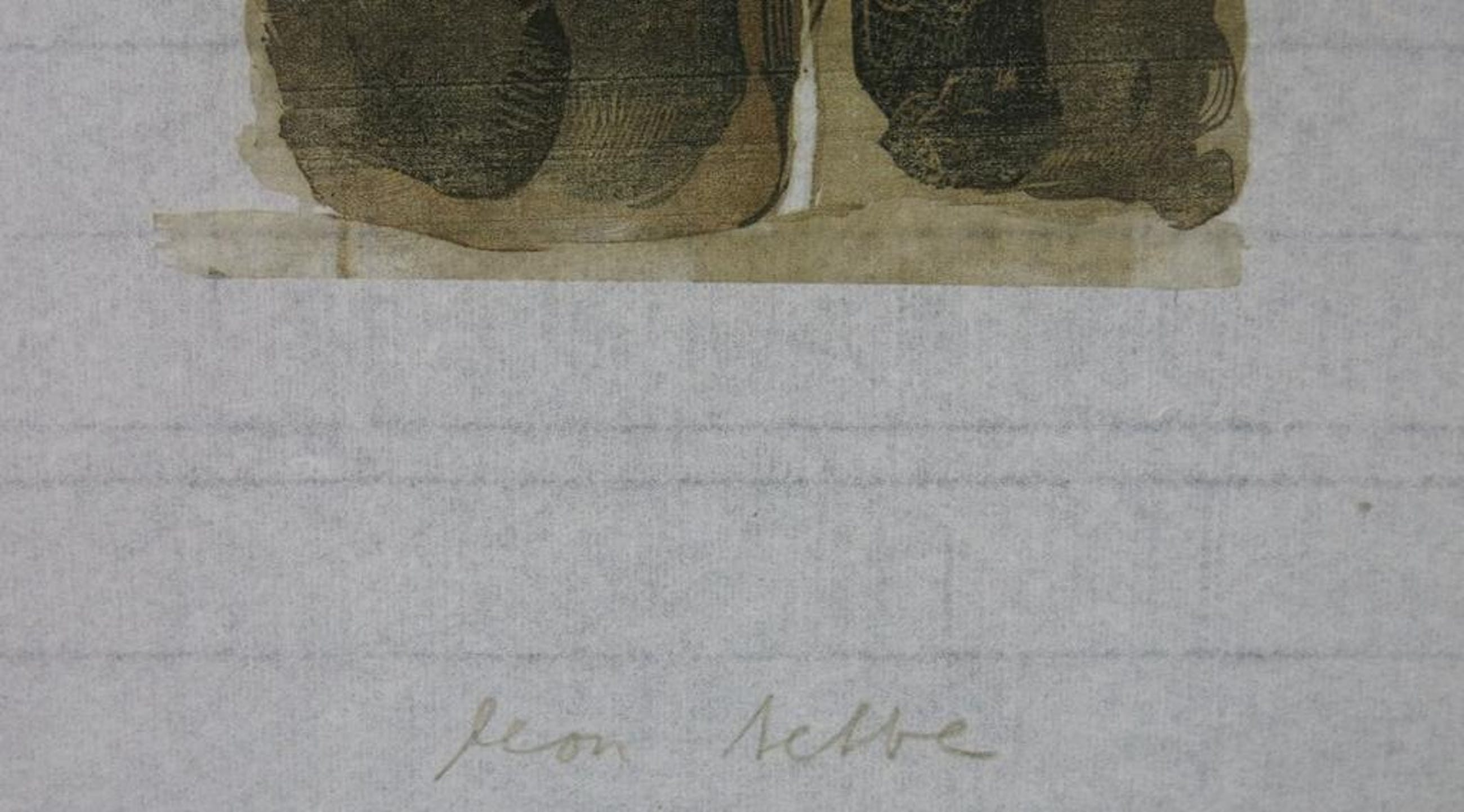 Leon Tebbe: Houtsnede, Zonder titel (bos) kopen? Bied vanaf 20!