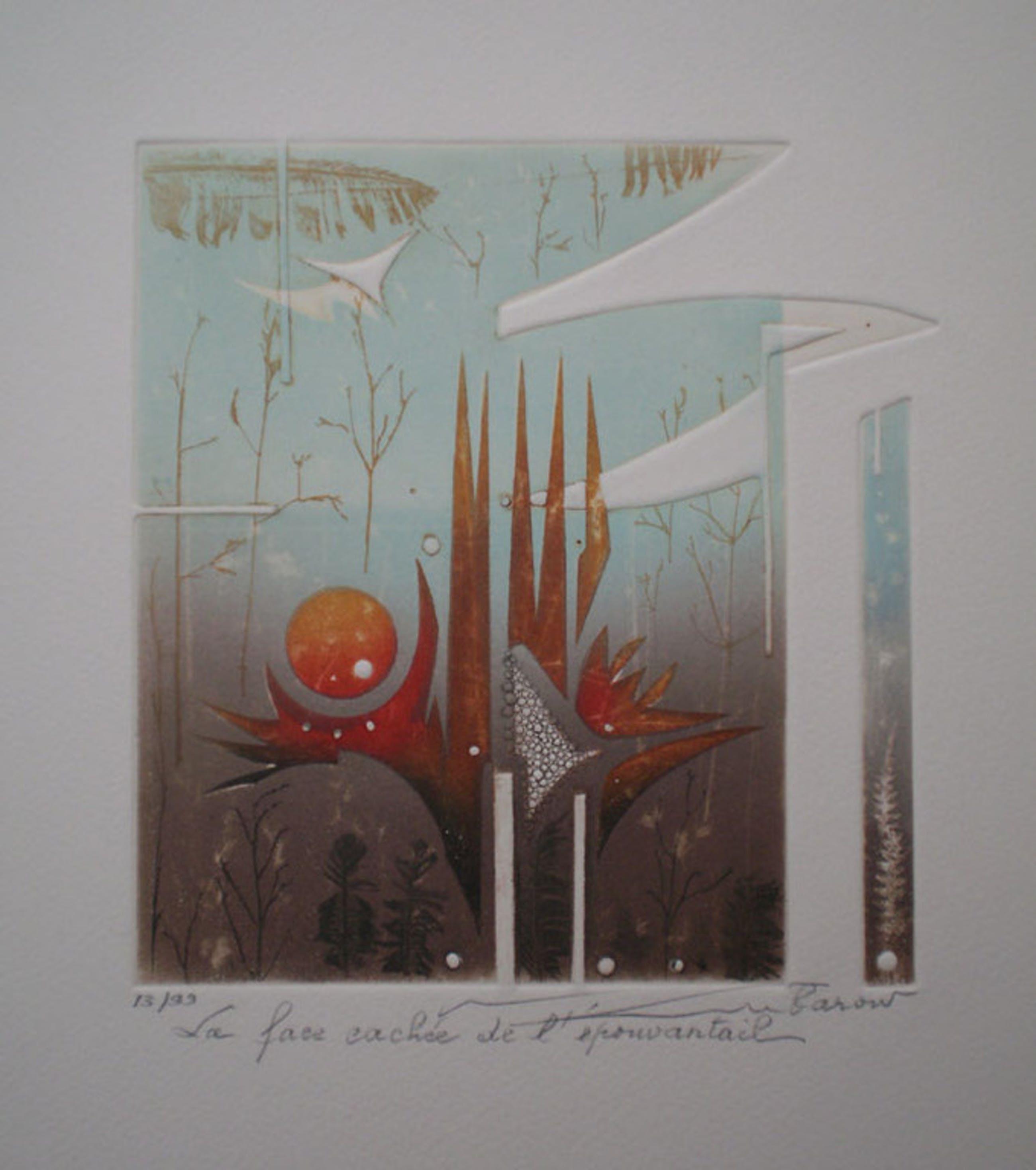 RENEÉ LUBAROW (* 1923 Seyssins/Grenoble) - bekannte franz. Malerin /  Grafikerin kopen? Bied vanaf 30!