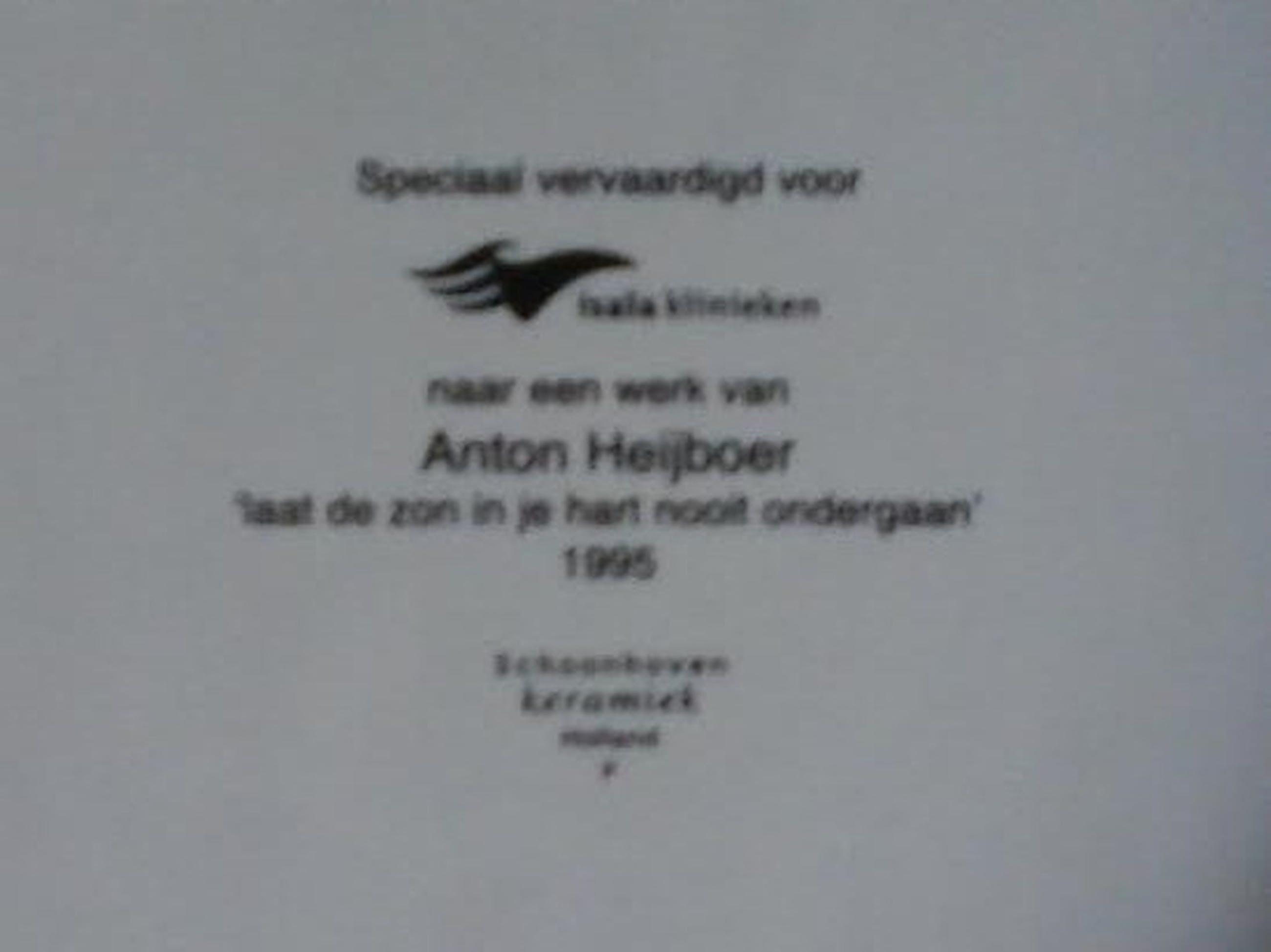 Anton Heyboer - Laat de zon in je hart nooit ondergaan !!!  kopen? Bied vanaf 85!