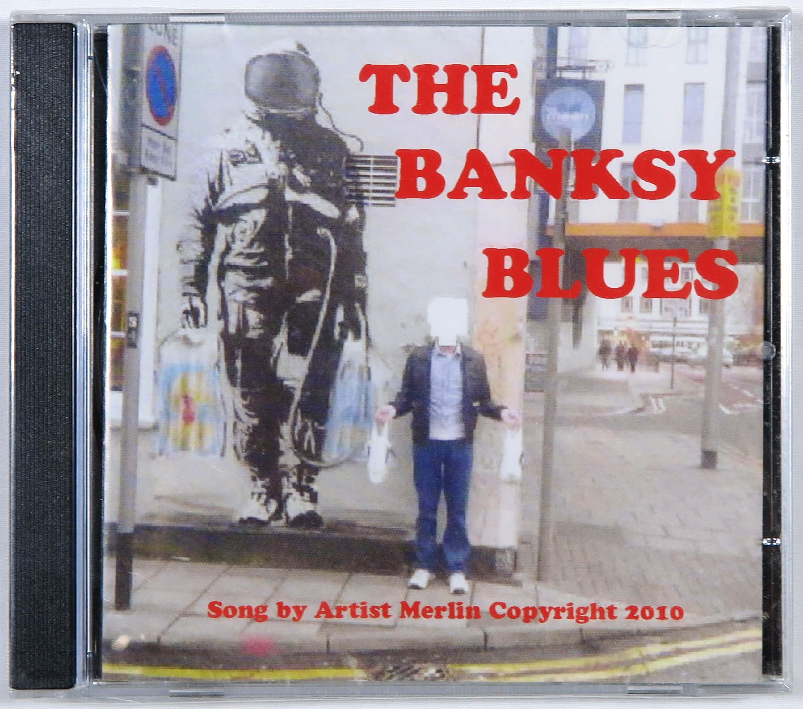 Banksy - Artist Merlin - The Banksy Blues kopen? Bied vanaf 3!