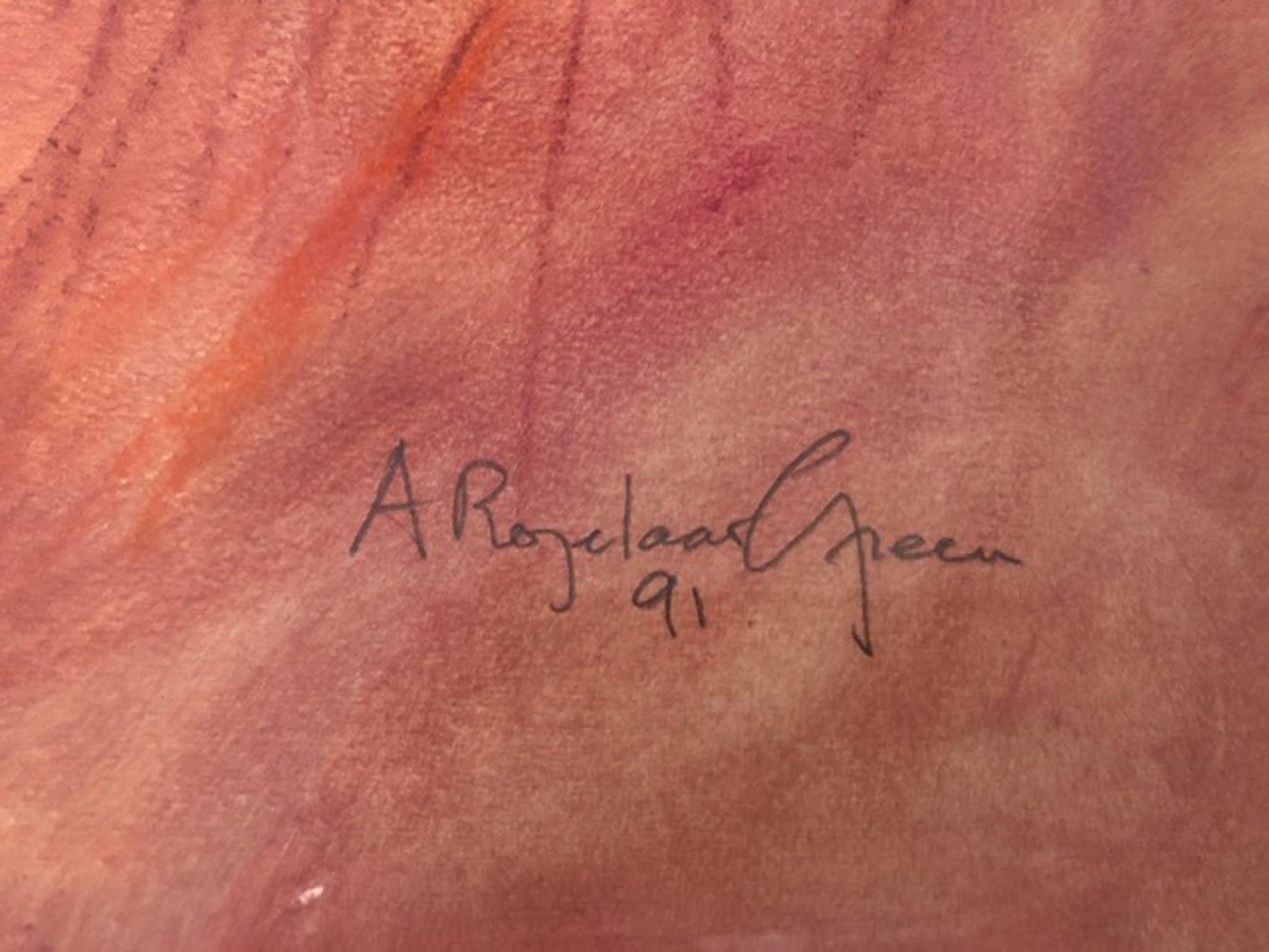 Alfred Rozelaar Green - Paysage près de Dijon kopen? Bied vanaf 150!