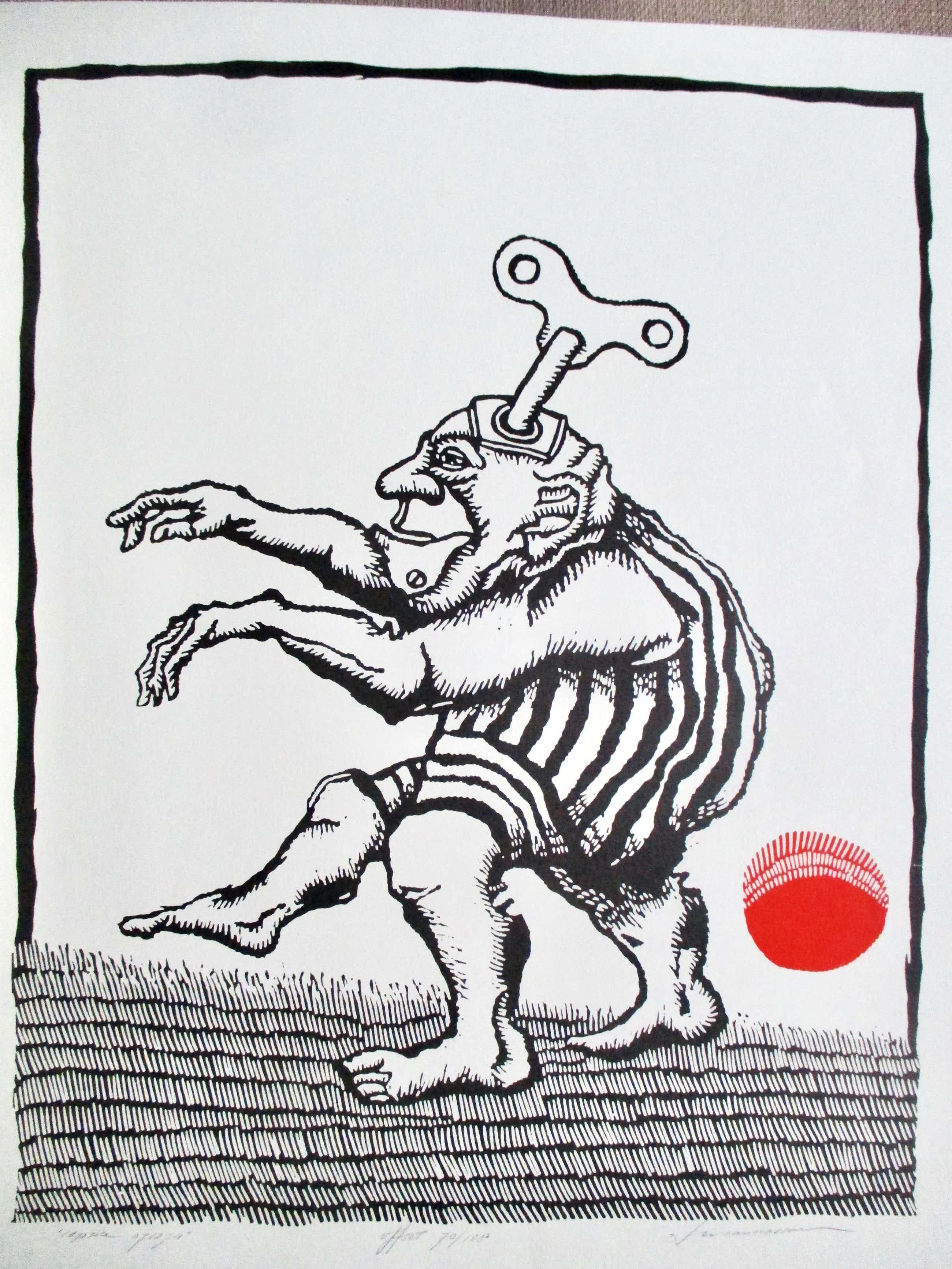 """Leo van Nassau - Offset print """"Caprice"""" kopen? Bied vanaf 30!"""