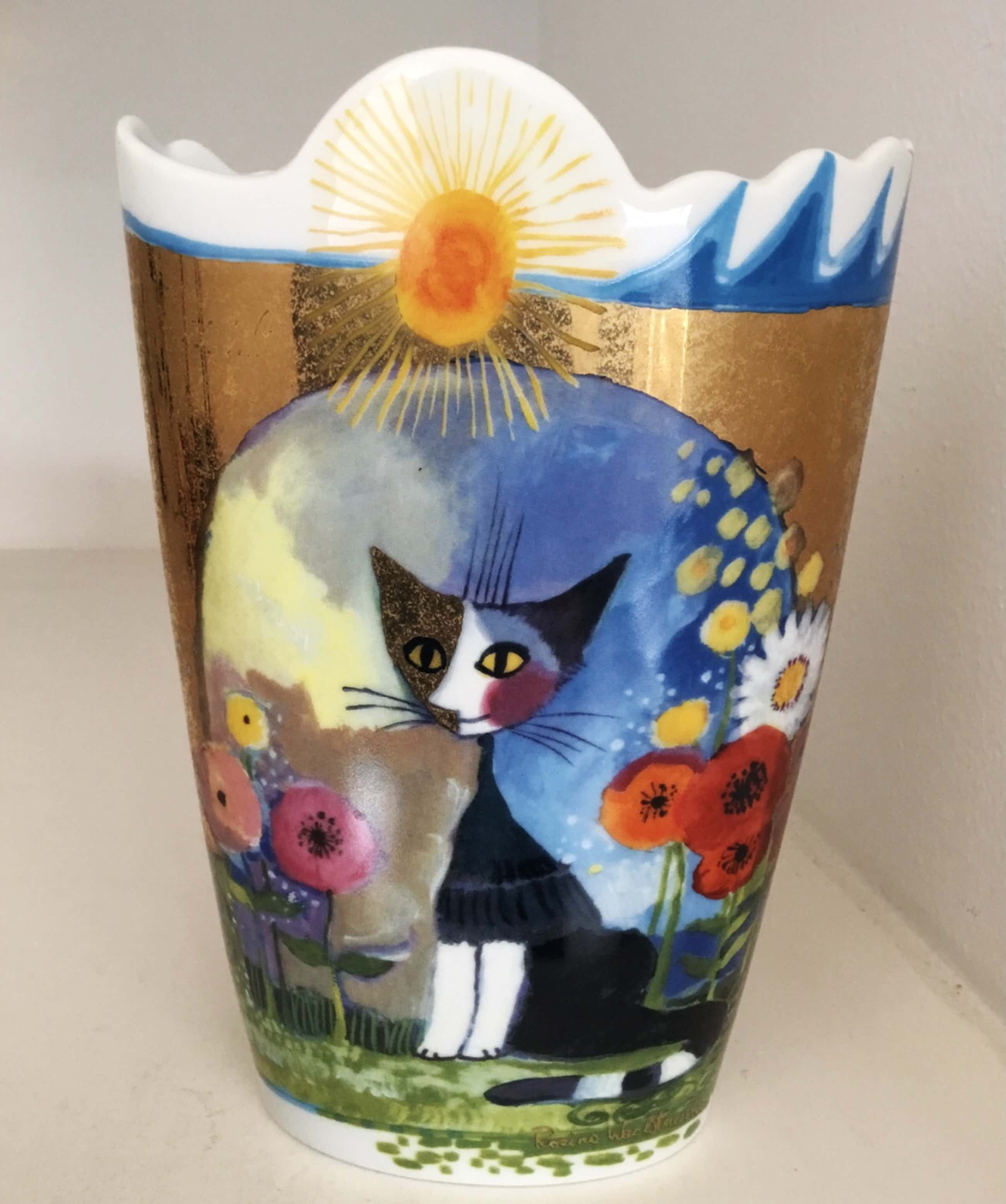 """Rosina Wachtmeister - Siervaas """" LUCE SOLARE """". Limited Edition kopen? Bied vanaf 75!"""