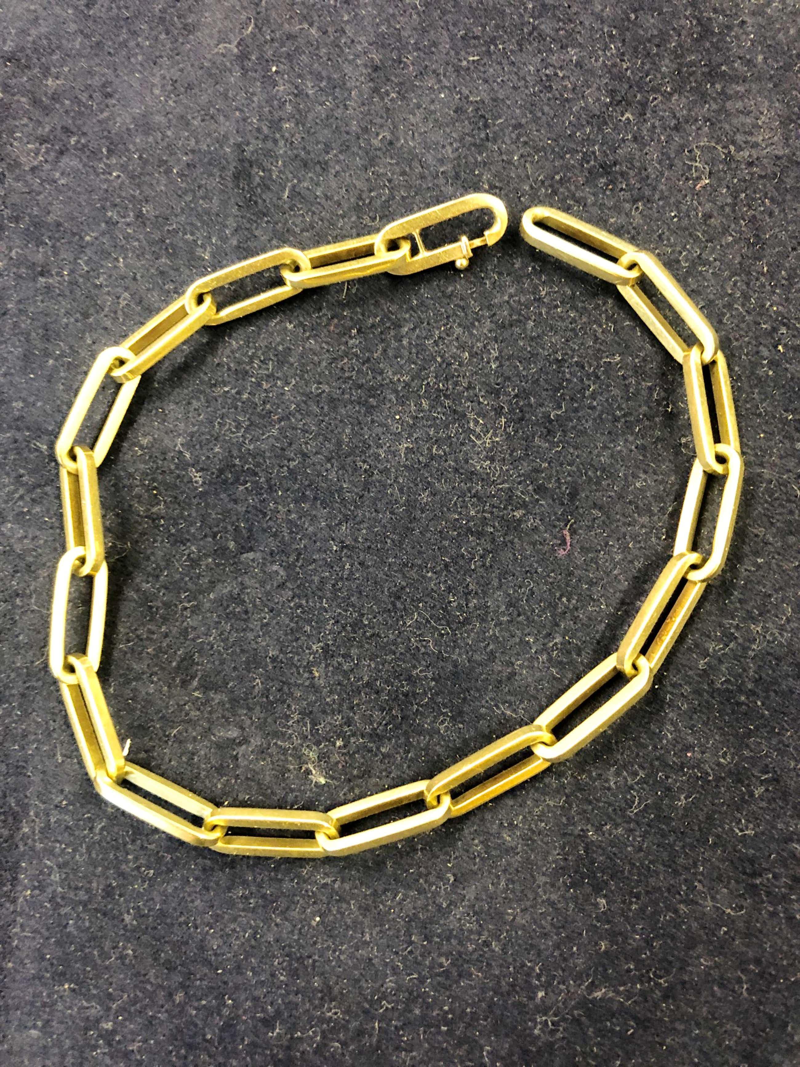 14K Goud - Schakel armband kopen? Bied vanaf 390!