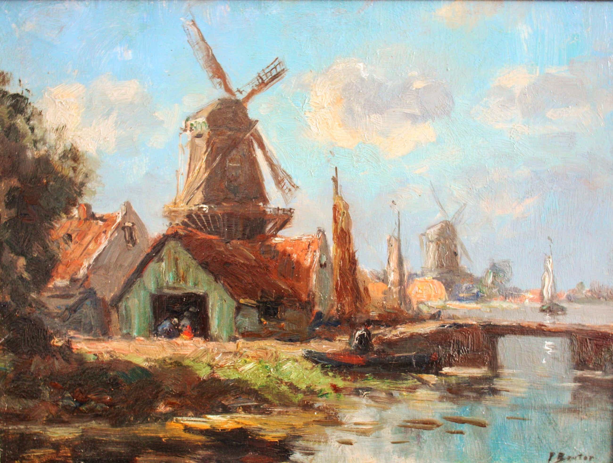 Piet Bouter - Molens en boerderij aan het water kopen? Bied vanaf 140!