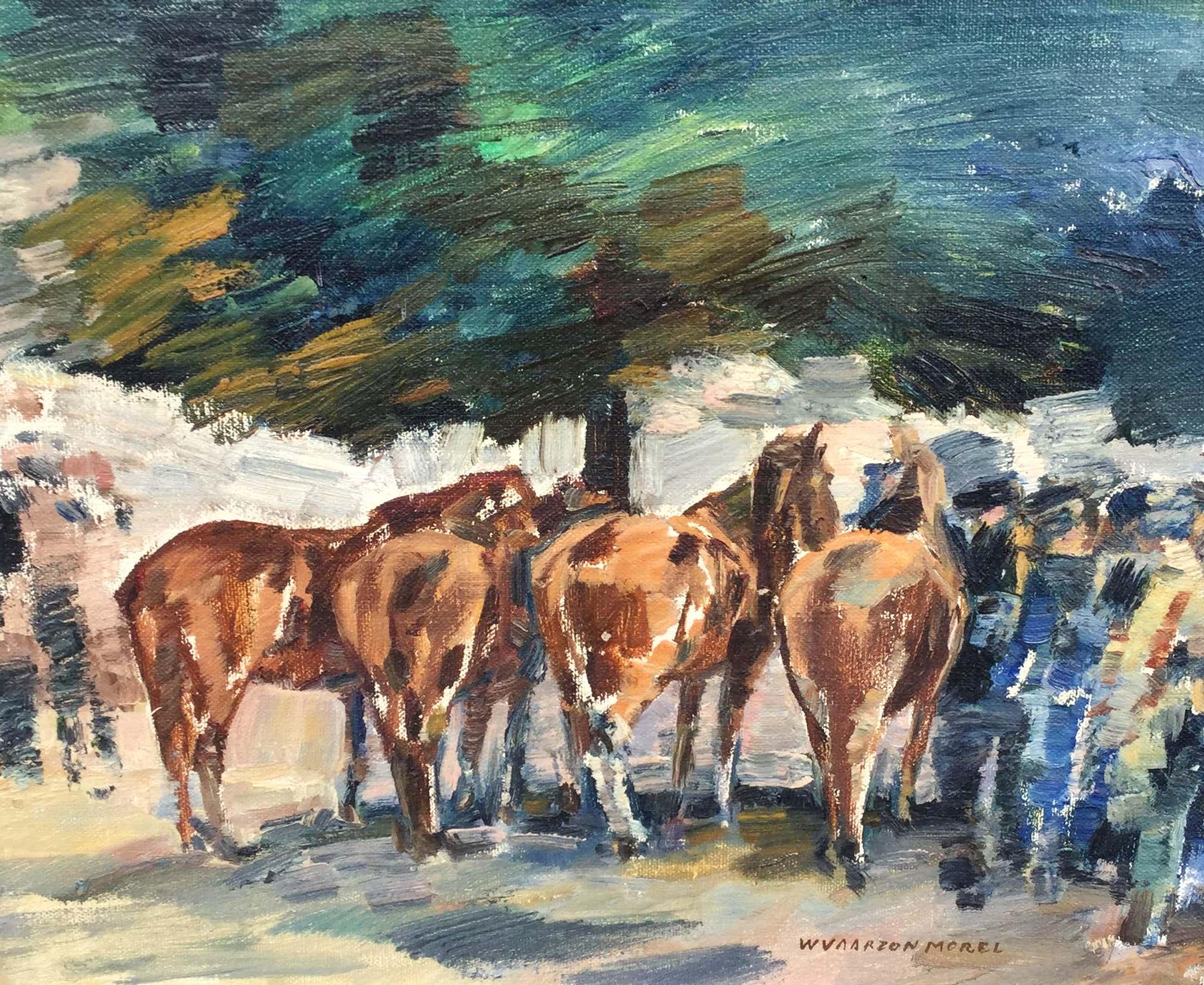 Wim Vaarzon Morel (jr.) - C4572 - Paardenmarkt kopen? Bied vanaf 360!