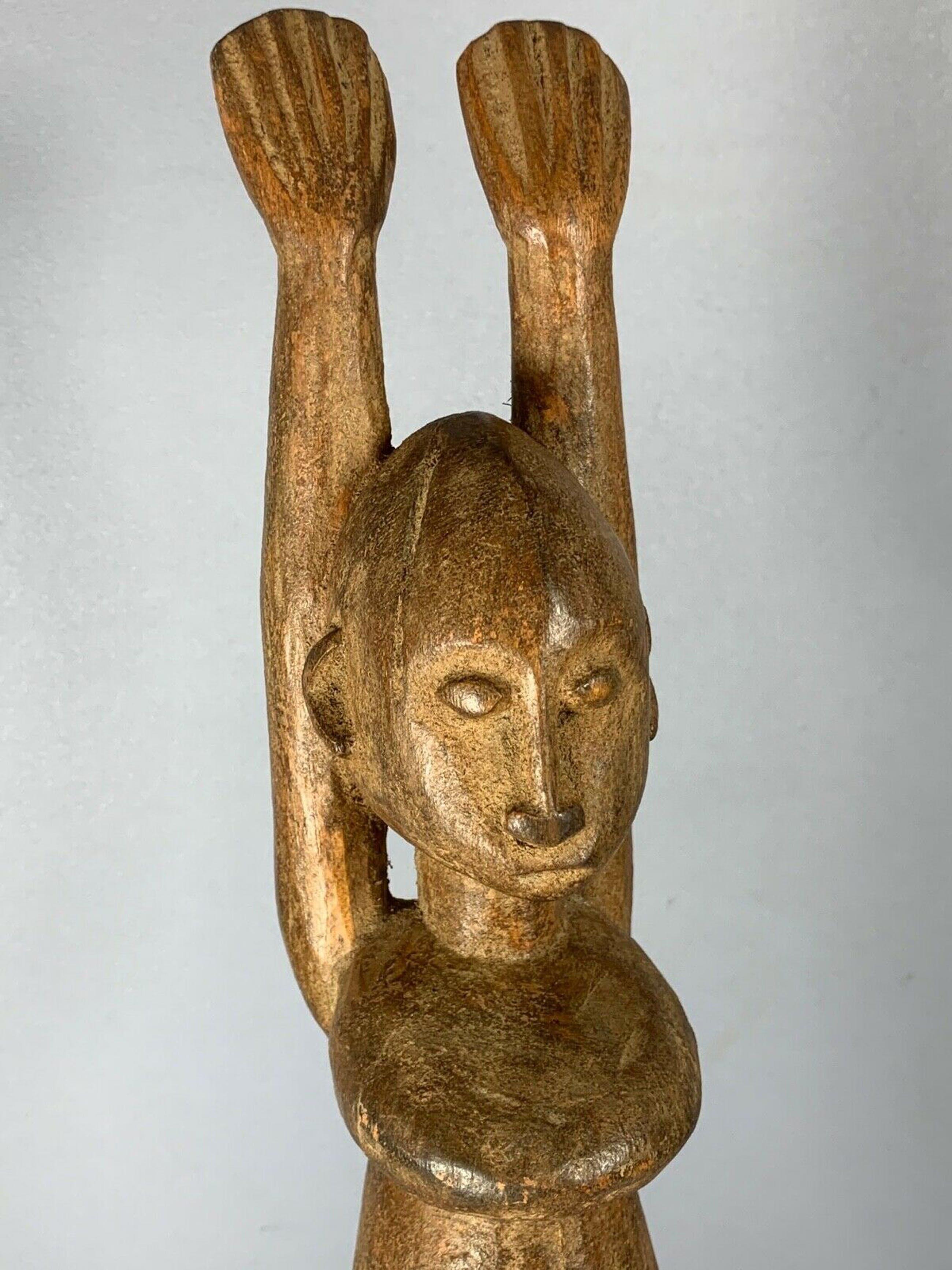 Dogon - 201136 - Old African Dogon Figure - Mali. kopen? Bied vanaf 75!
