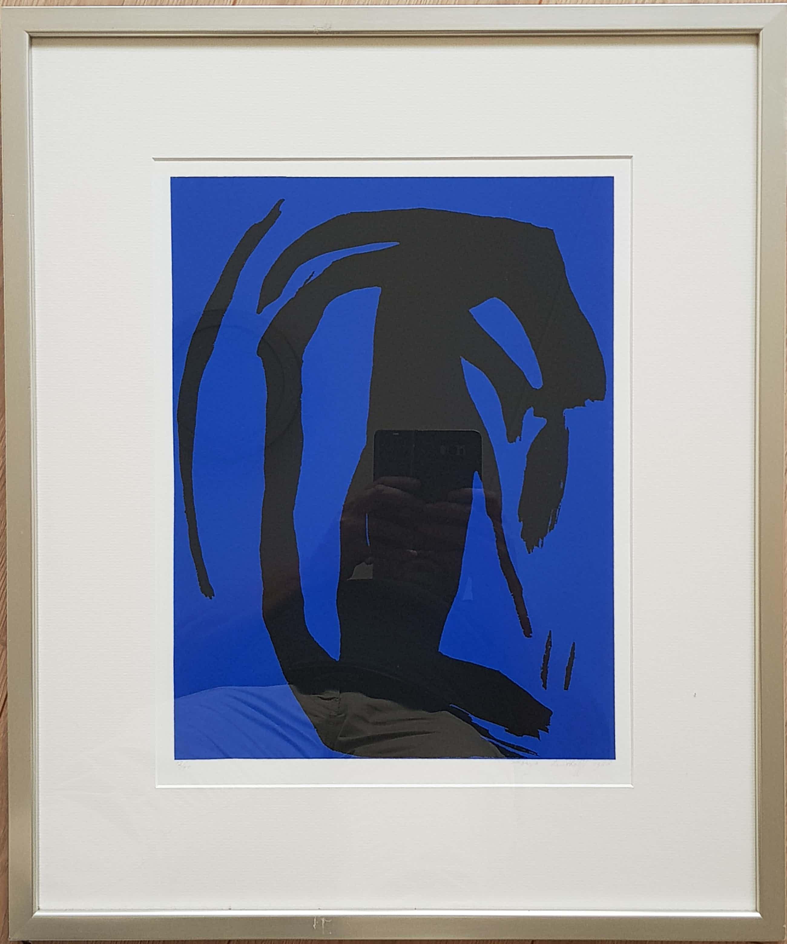Sonja Leutholff - Abstract, opl 40, incl.lijst kopen? Bied vanaf 50!