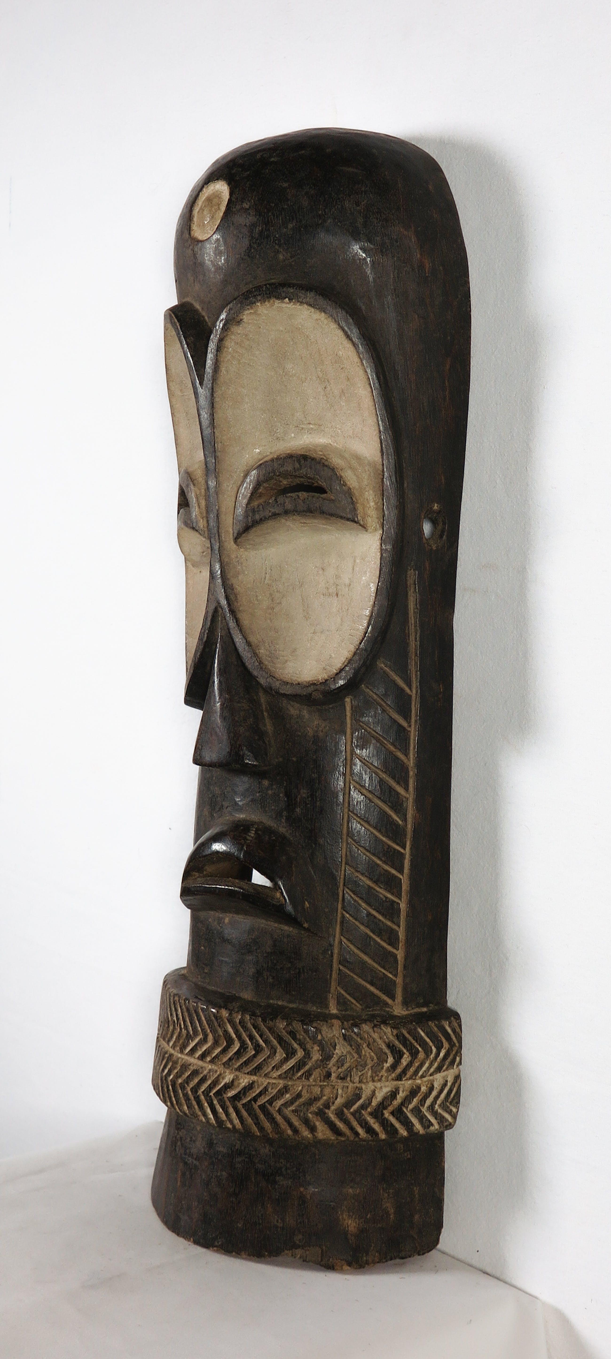 Bembe - Lang uilenmasker met band om de kin kopen? Bied vanaf 1!