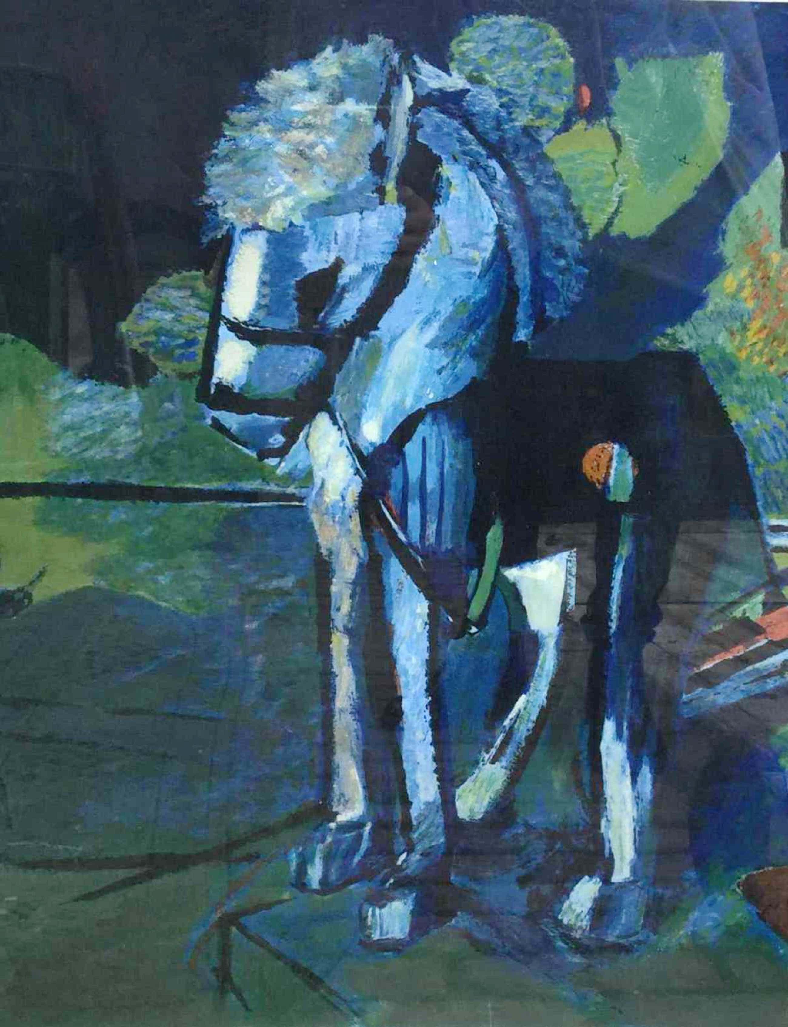 Kees Verwey - C2568-9, Paardje kopen? Bied vanaf 150!