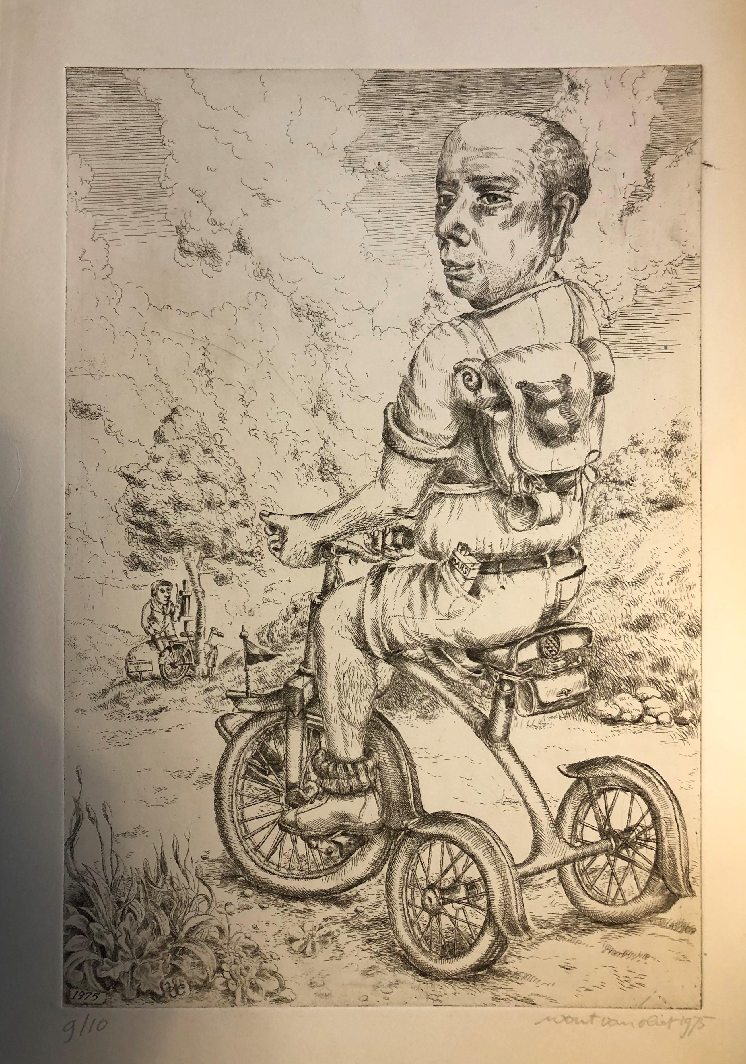 Wout van Vliet - man op driewieler kopen? Bied vanaf 50!
